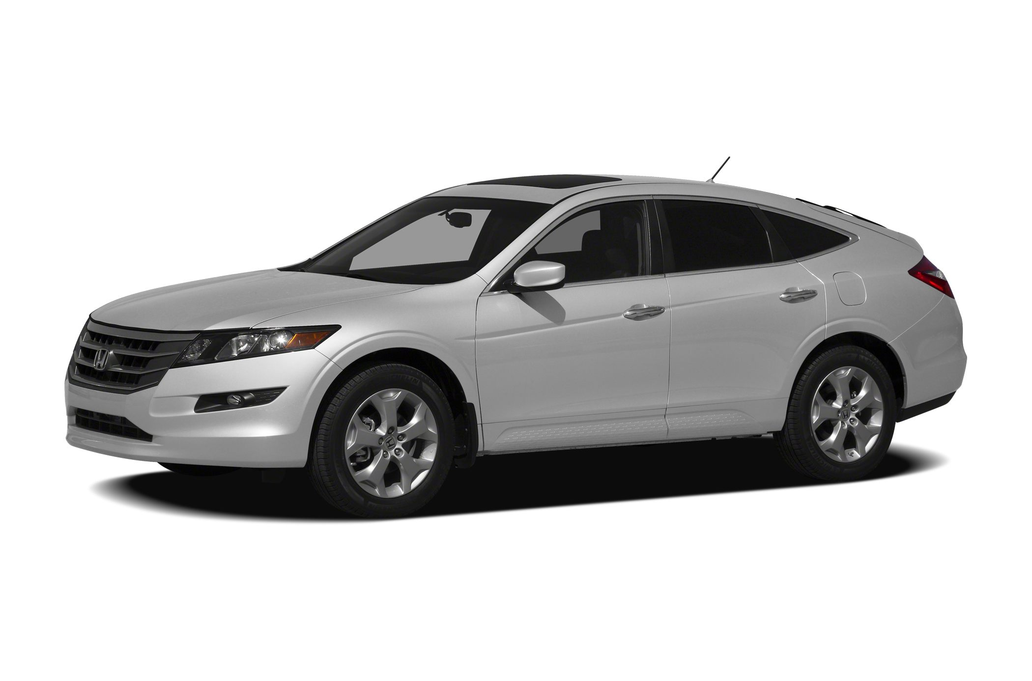 2012 Honda Crosstour  Miles 77315Color White Stock SB16316A VIN 5J6TF1H55CL003958