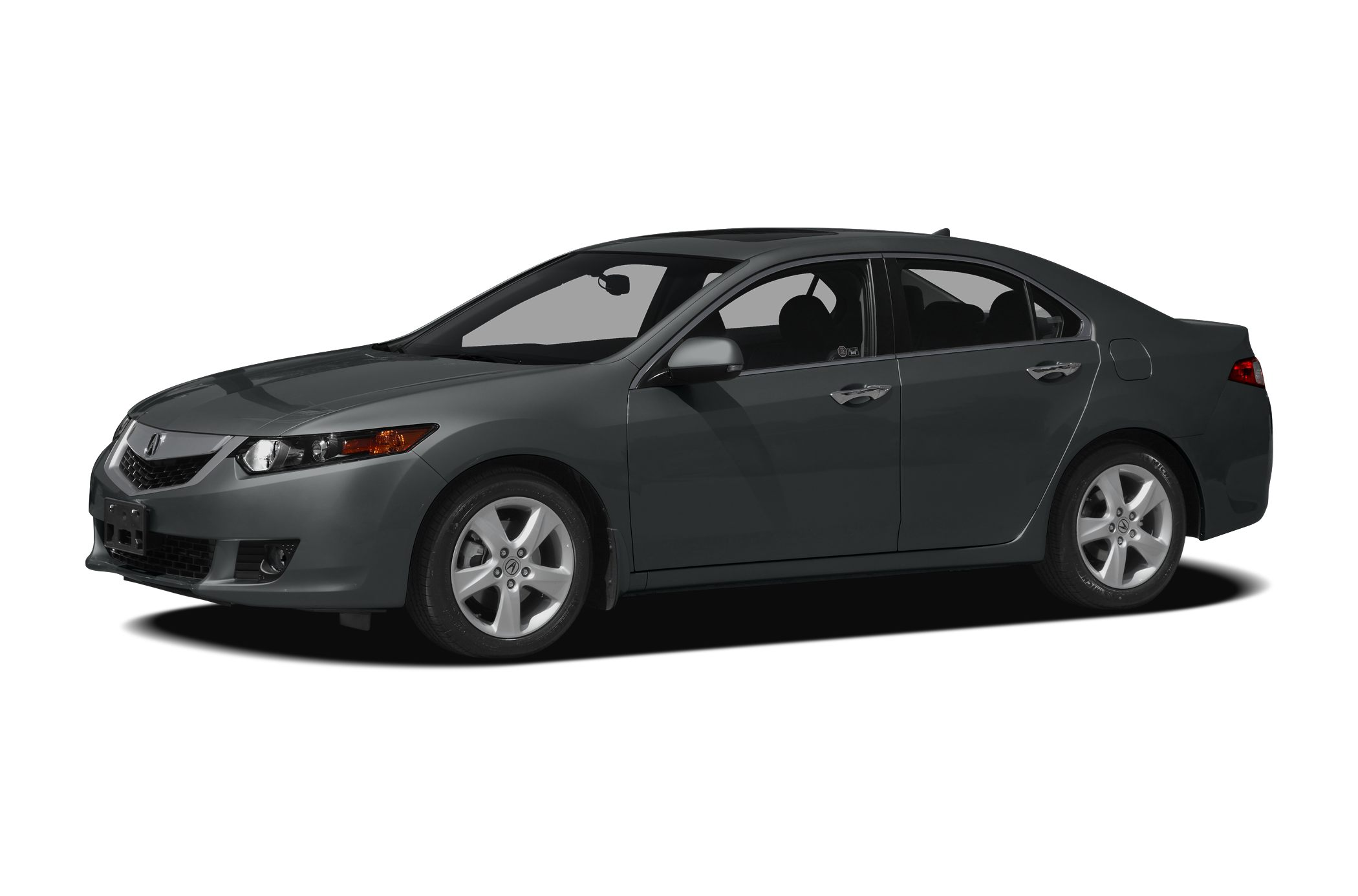 2009 Acura TSX Base Polished Metal Gray on Taupe Gray Heated Leather Bluetooth Moonroof and s