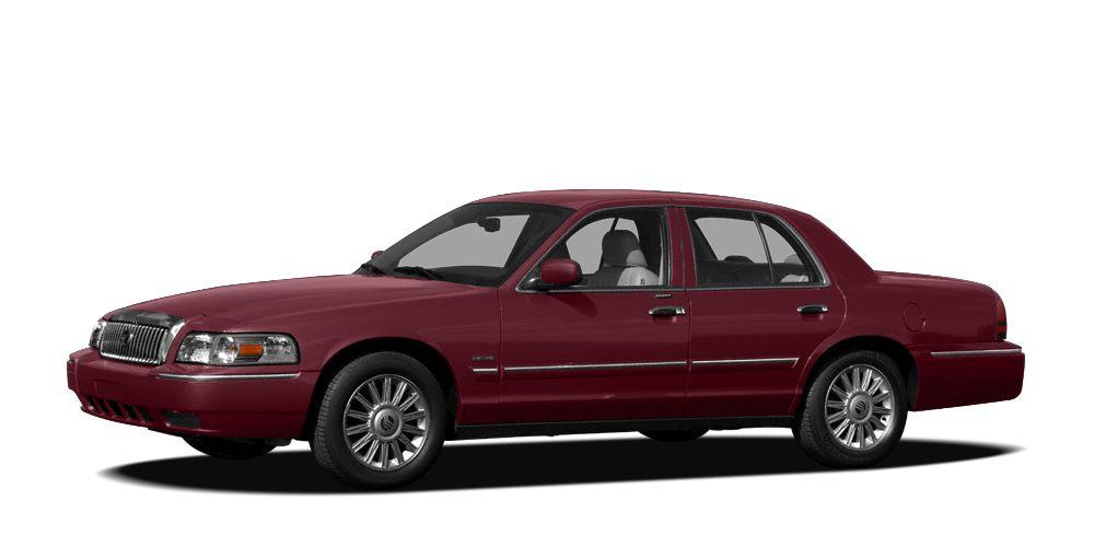 2008 Mercury Grand Marquis LS CARFAX 1-Owner LOW MILES - 25489 LS trim Leather Interior Flex