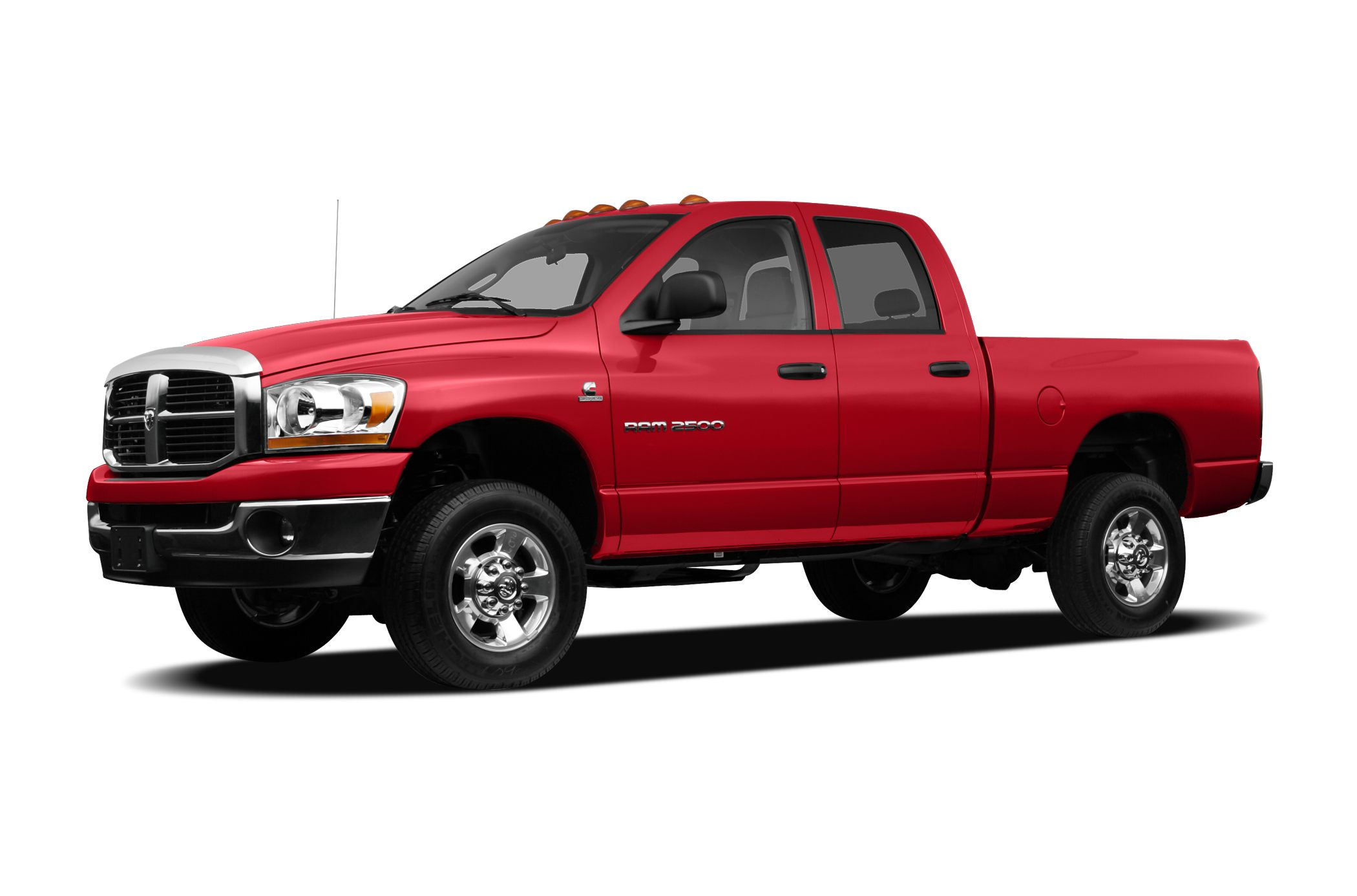 2007 Dodge Ram 2500  Color Red Stock JC164A VIN 1D7KS28A27J609354