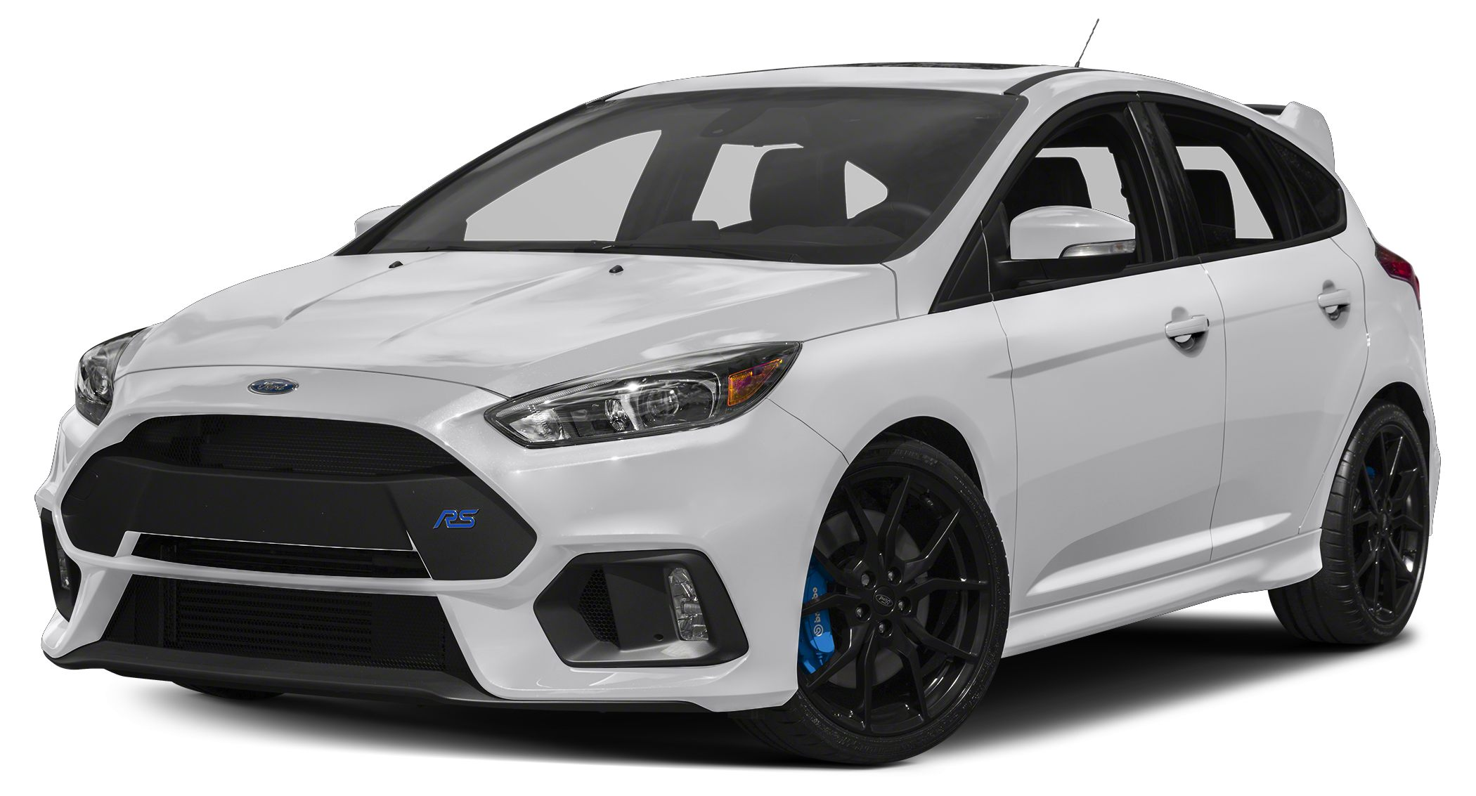 2017 Ford Focus RS Base Miles 0Color Frozen White Stock F7680 VIN WF0DP3TH3H4120036
