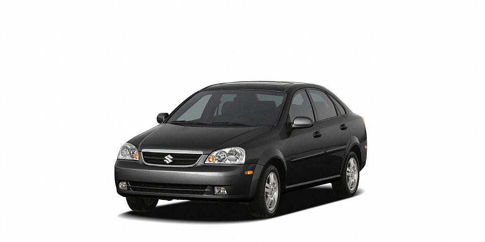 2006 Suzuki Forenza Premium Miles 109187Color Black Stock P631A VIN KL5JJ56Z76K270155