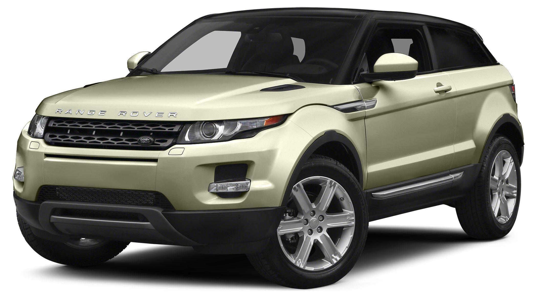 2014 Land Rover Range Rover Evoque Pure Plus Prices are PLUS tax tag title fee 799 Pre-Deliv
