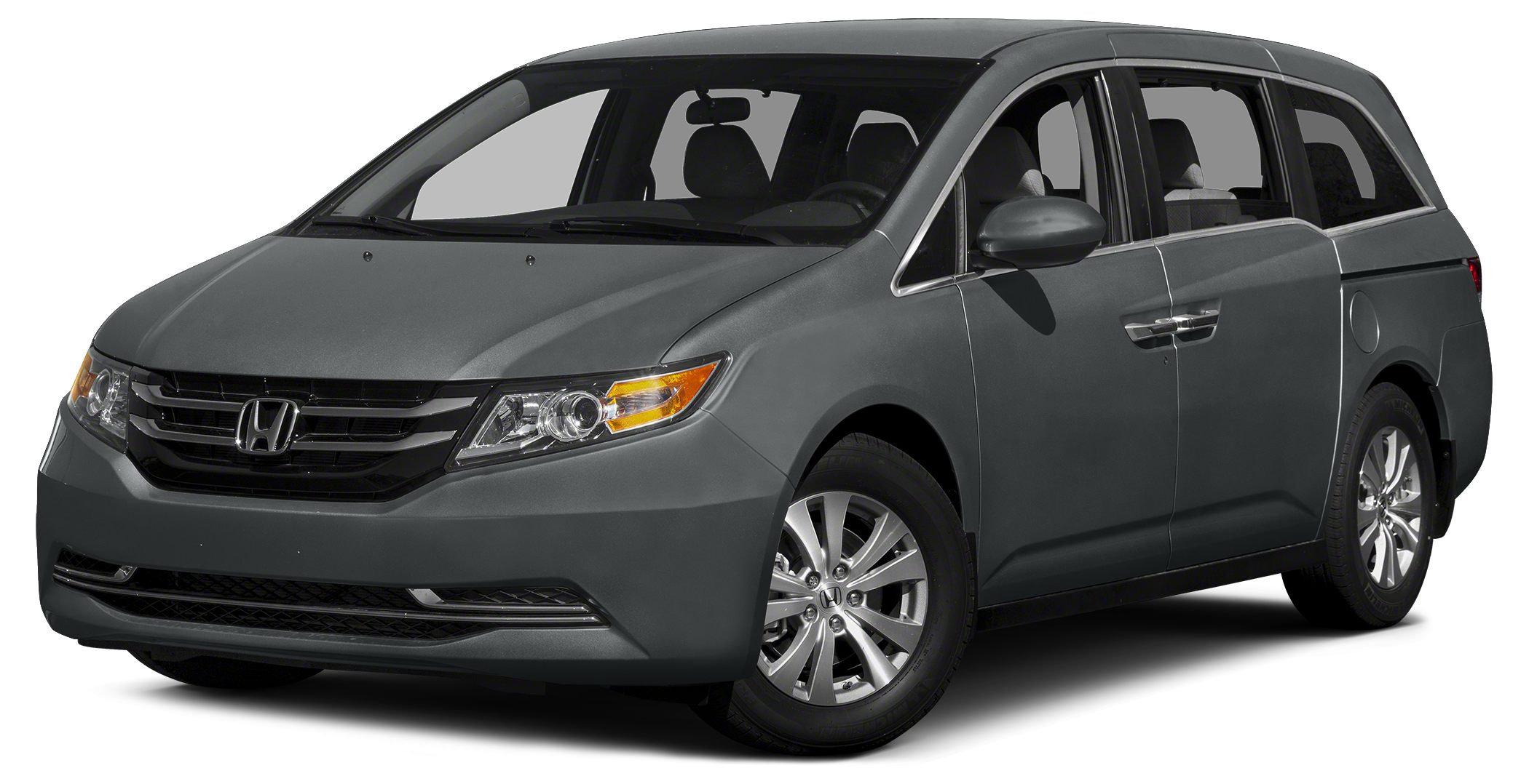 2015 Honda Odyssey EX Miles 10Color Modern Steel Metallic Stock H0796 VIN 5FNRL5H42FB131606