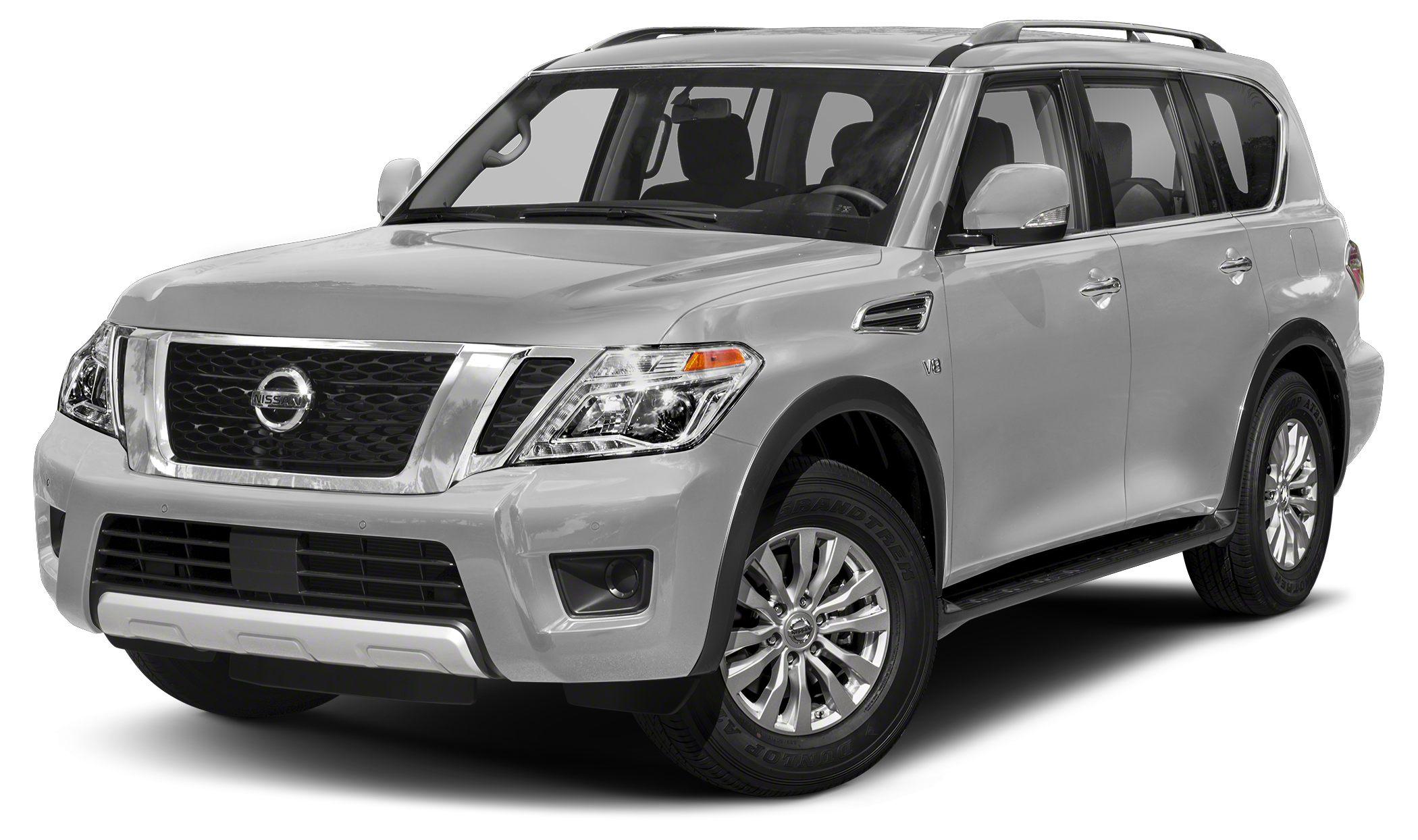 2017 Nissan Armada SV This 2017 Nissan ARMADA SV will sell fast Navigation Bluetooth Save mo