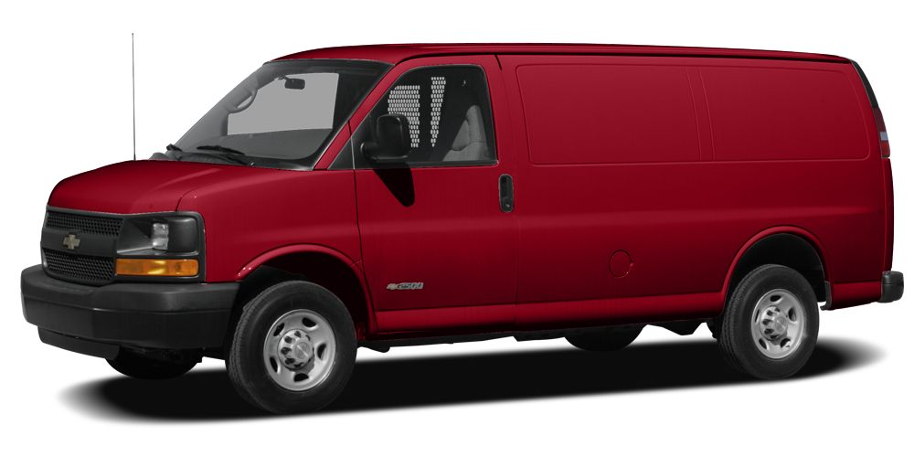 2010 Chevrolet Express 1500 Work Van Miles 52916Color Red Stock 17741 VIN 1GCUGADX8A1114754