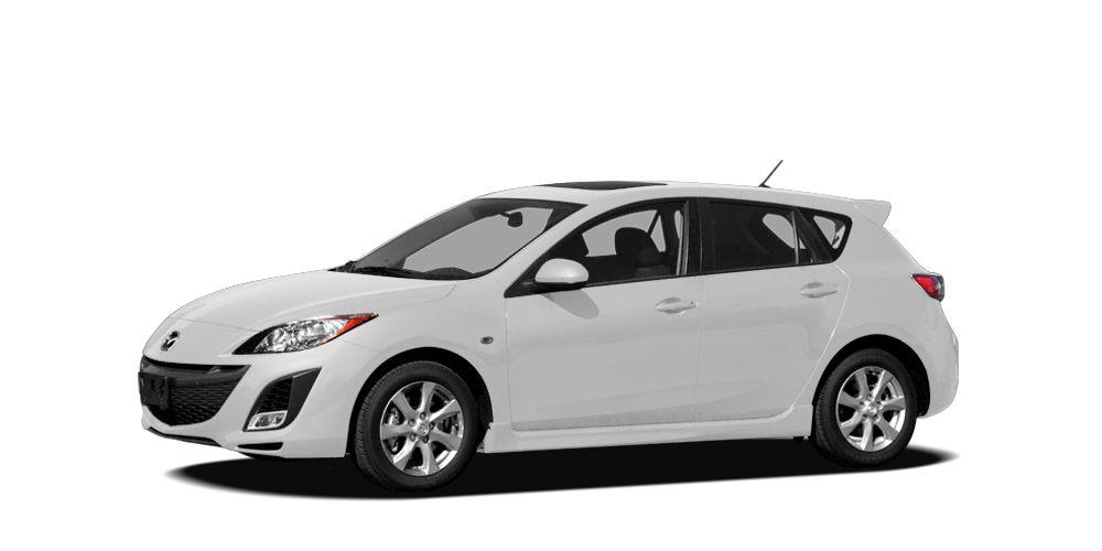 2010 Mazda MAZDA3 s Sport Miles 134934Color Crystal White Pearl Mica Stock K16281A VIN JM1BL