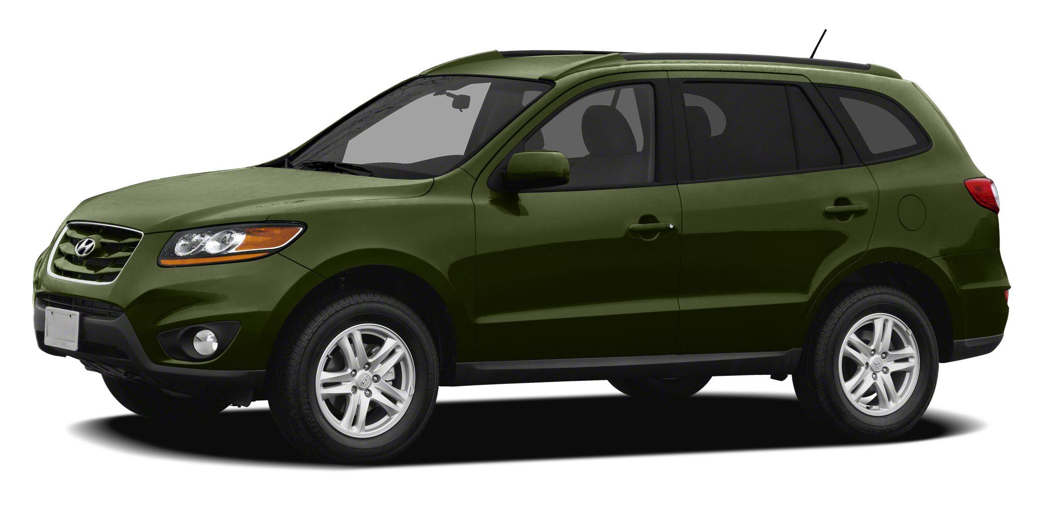 2012 Hyundai Santa Fe GLS Miles 31967Color Black Forest Green Stock L15393A VIN 5XYZG3AB0CG14