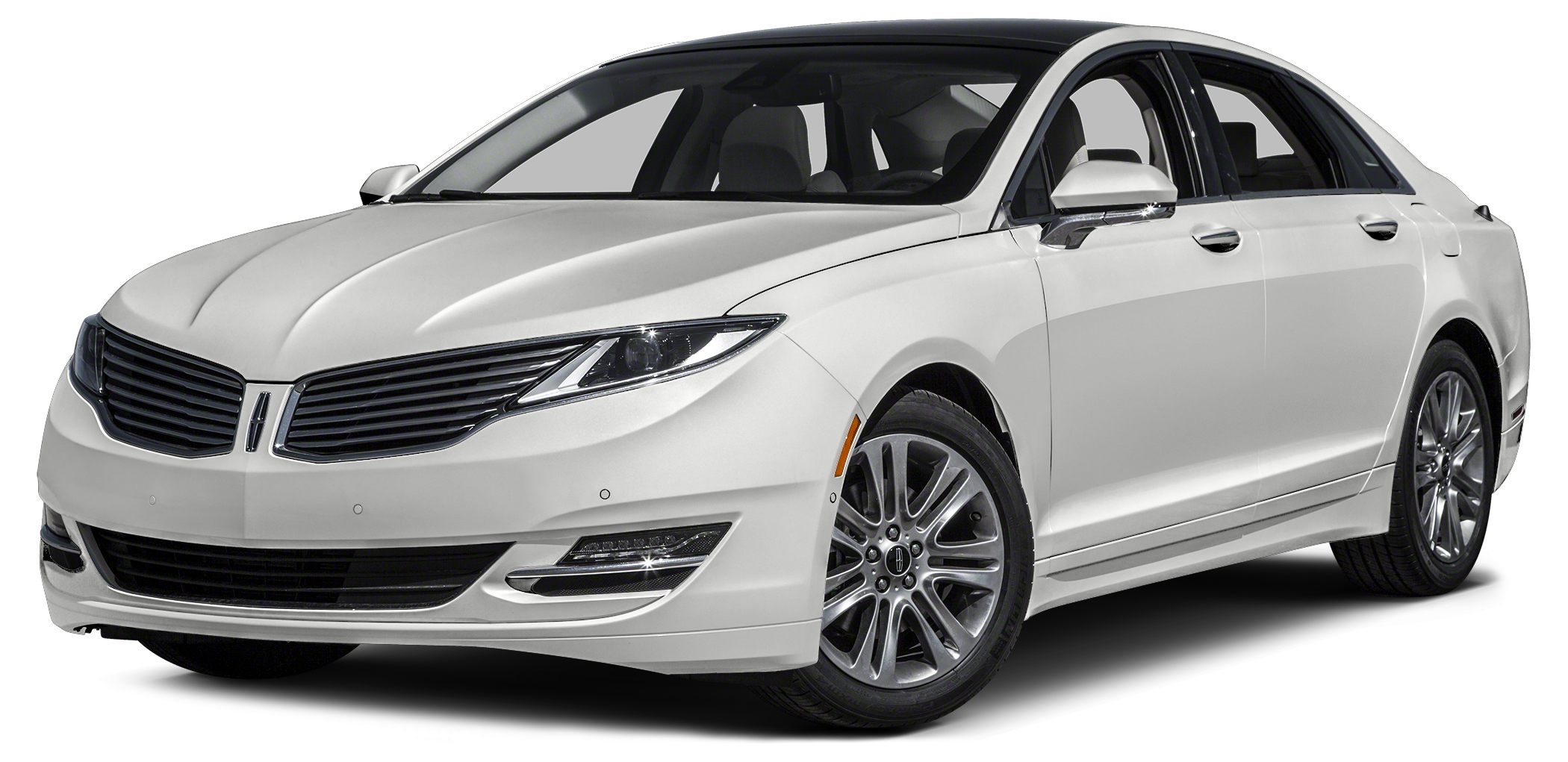 2014 Lincoln MKZ Base Miles 19684Color White Platinum Metallic Tri-Coat Stock PR182 VIN 3LN6
