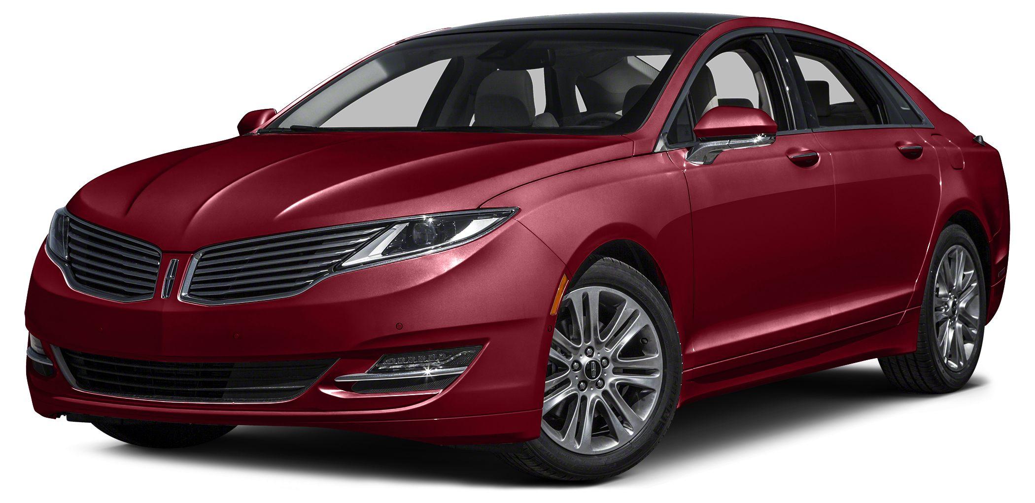 2016 Lincoln MKZ Base Miles 3774Color Red Stock 966 VIN 3LN6L2G98GR611966