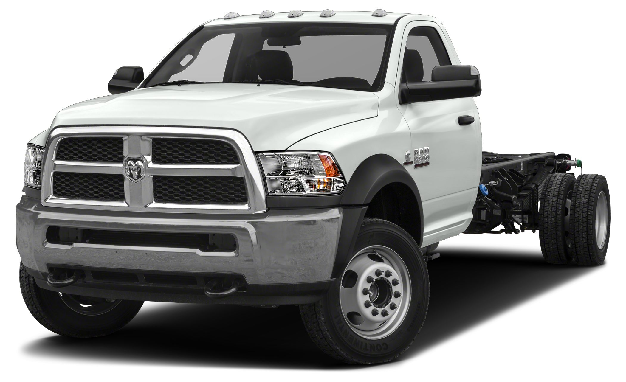 2015 RAM 5500HD Chassis Cab TradesmanSLT Miles 12Color Bright White Clearcoat Stock 21075 VI