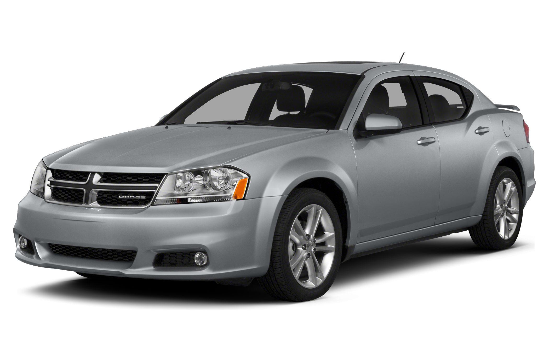 2014 Dodge Avenger SE EPA 30 MPG Hwy21 MPG City CARFAX 1-Owner SE trim CD Player iPodMP3 Inp