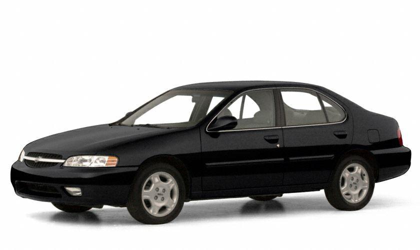 2001 Nissan Altima GXE Miles 191490Color Super Black Stock SB16789A VIN 1N4DL01D91C100534