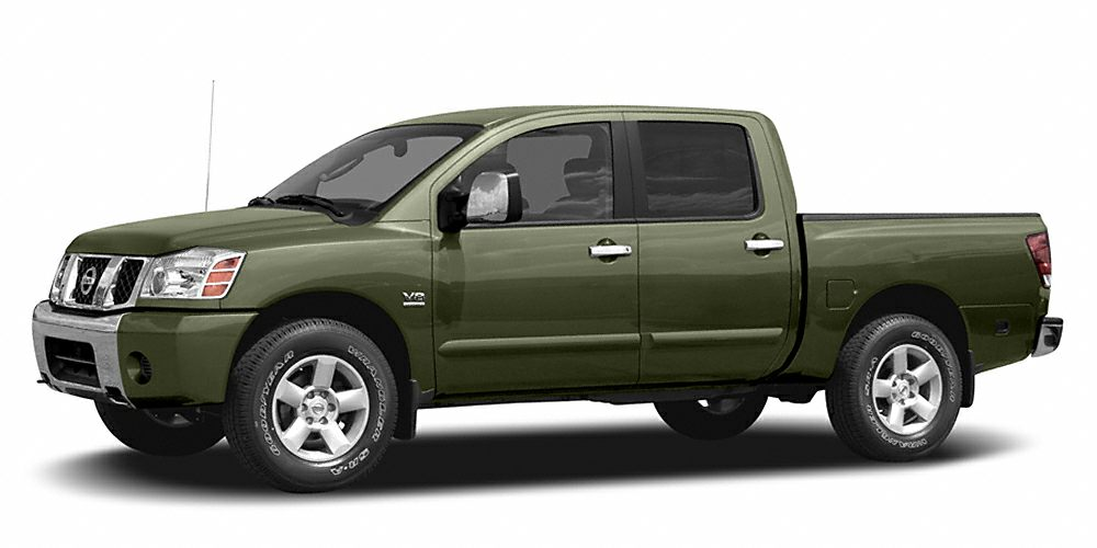 2004 Nissan Titan  Miles 72555Color Green Stock 16440 VIN 1N6AA07B54N572731
