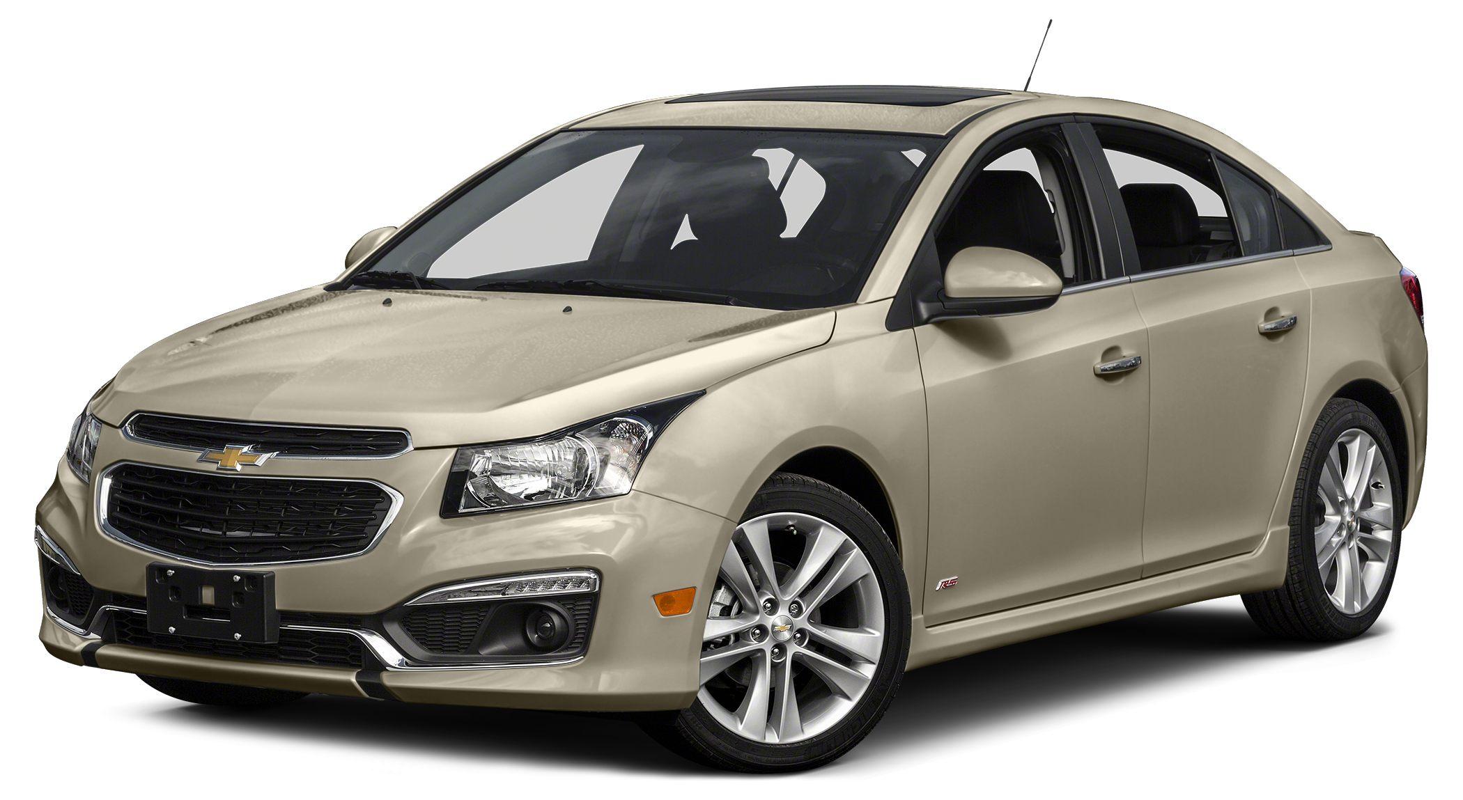2015 Chevrolet Cruze 1LT 1LT Driver Convenience Package Auto-Dimming Inside Rear-View Mirror Dri