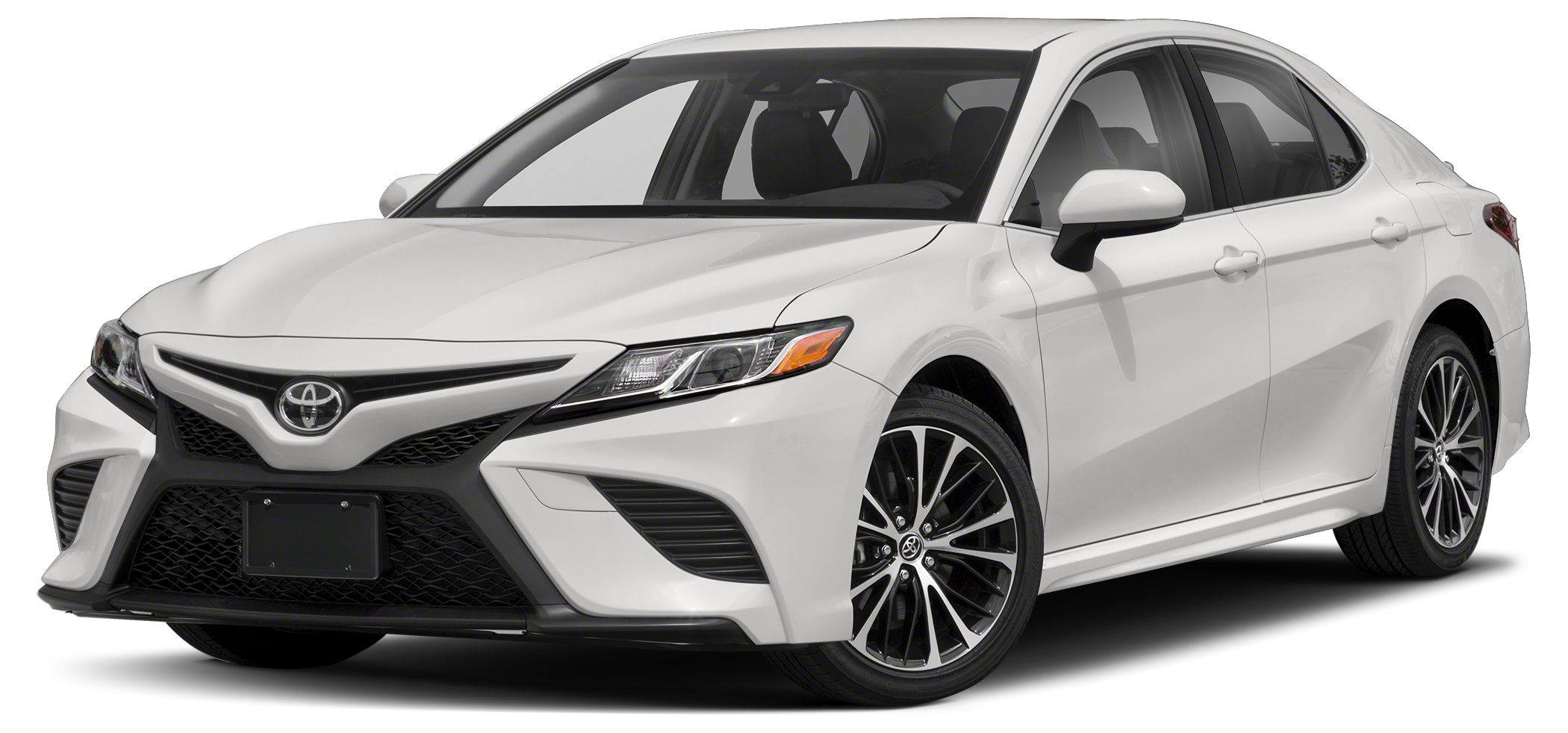 2018 Toyota Camry SE Super White SE All Weather Floor Liners  Cargo Tray Package Audio Package