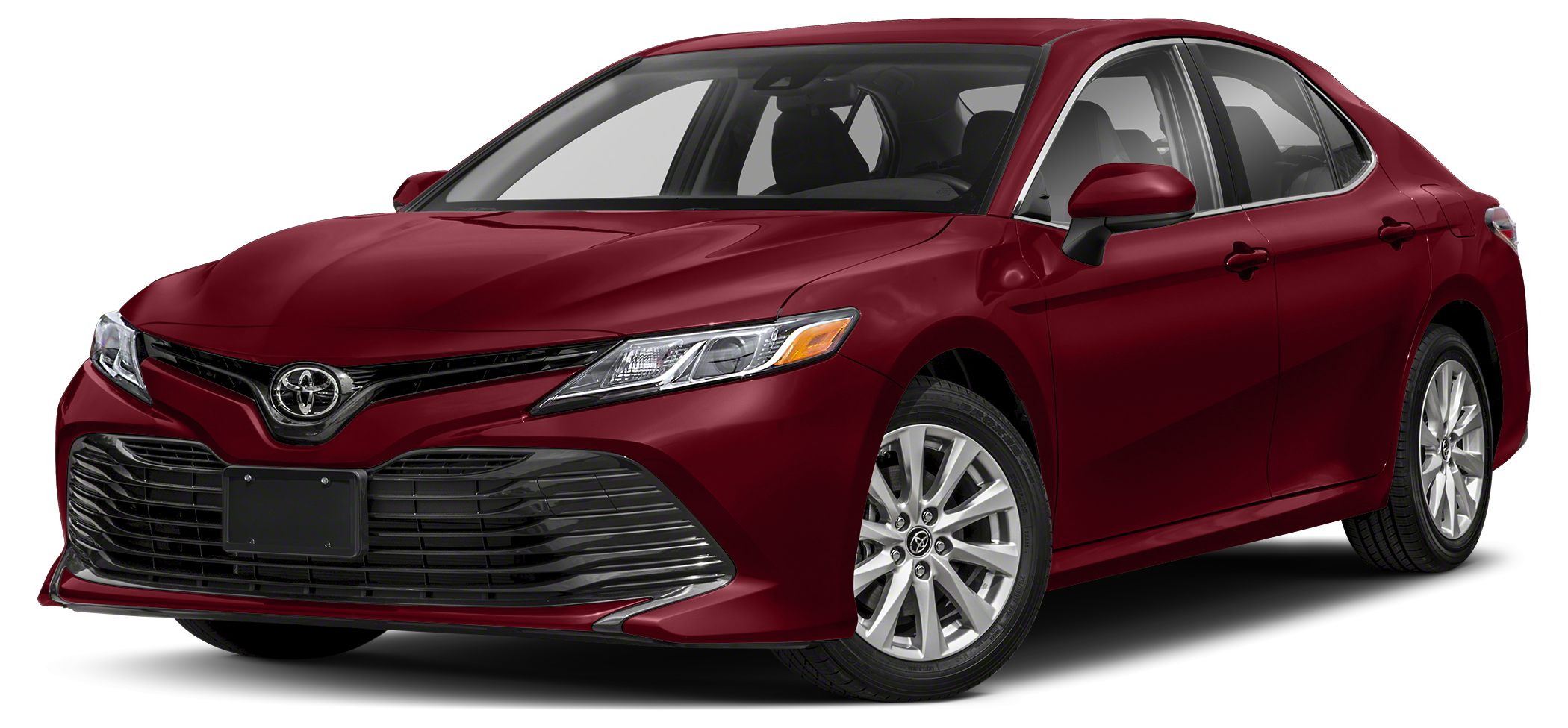 2018 Toyota Camry L L trim CELESTIAL SILVER METALLIC exterior and ASH interior EPA 41 MPG Hwy29
