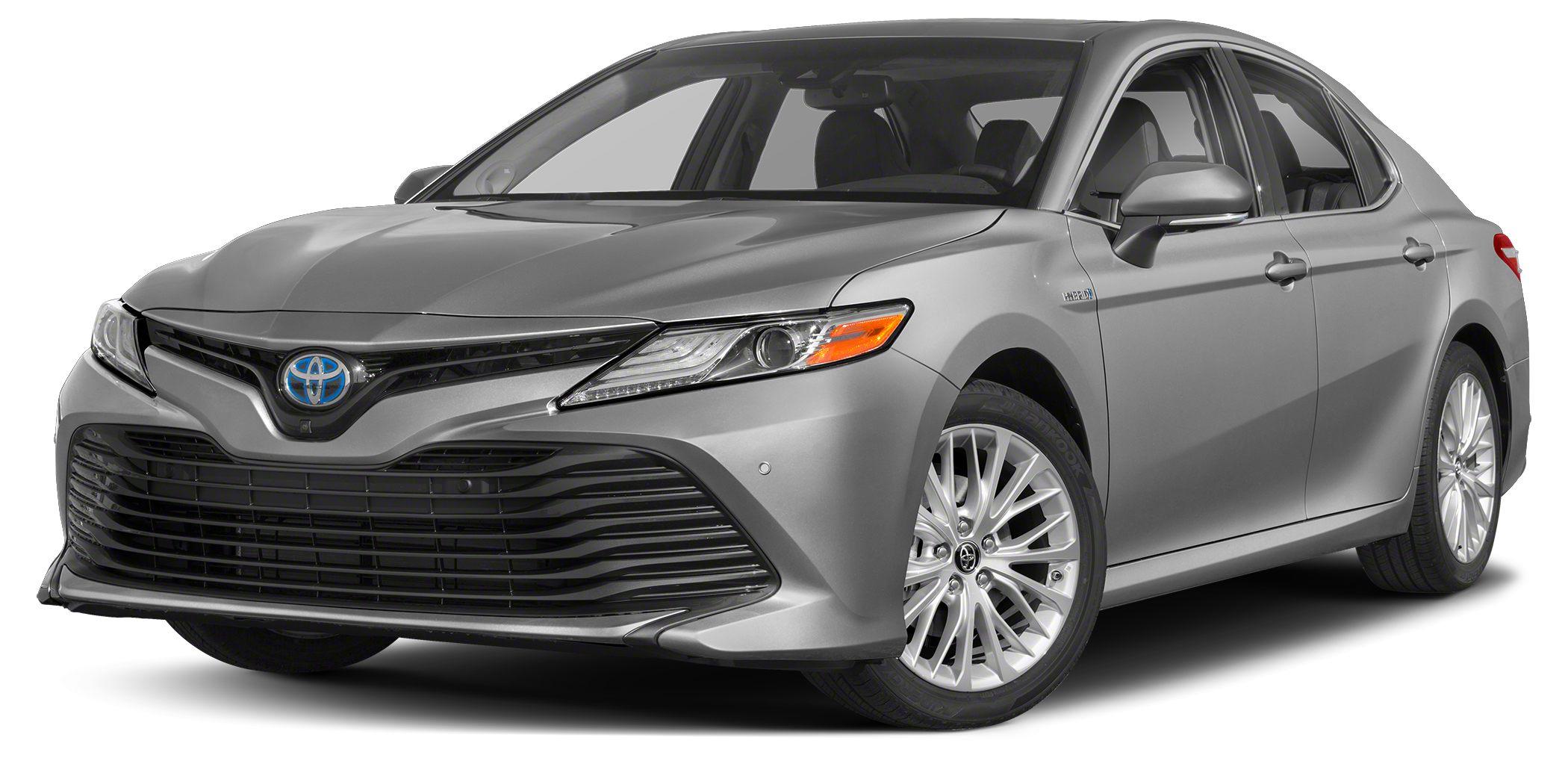 2018 Toyota Camry Hybrid LE Silver Metallic Hybrid LE 25L I4 Hybrid DOHC Black 5351 HighwayCi