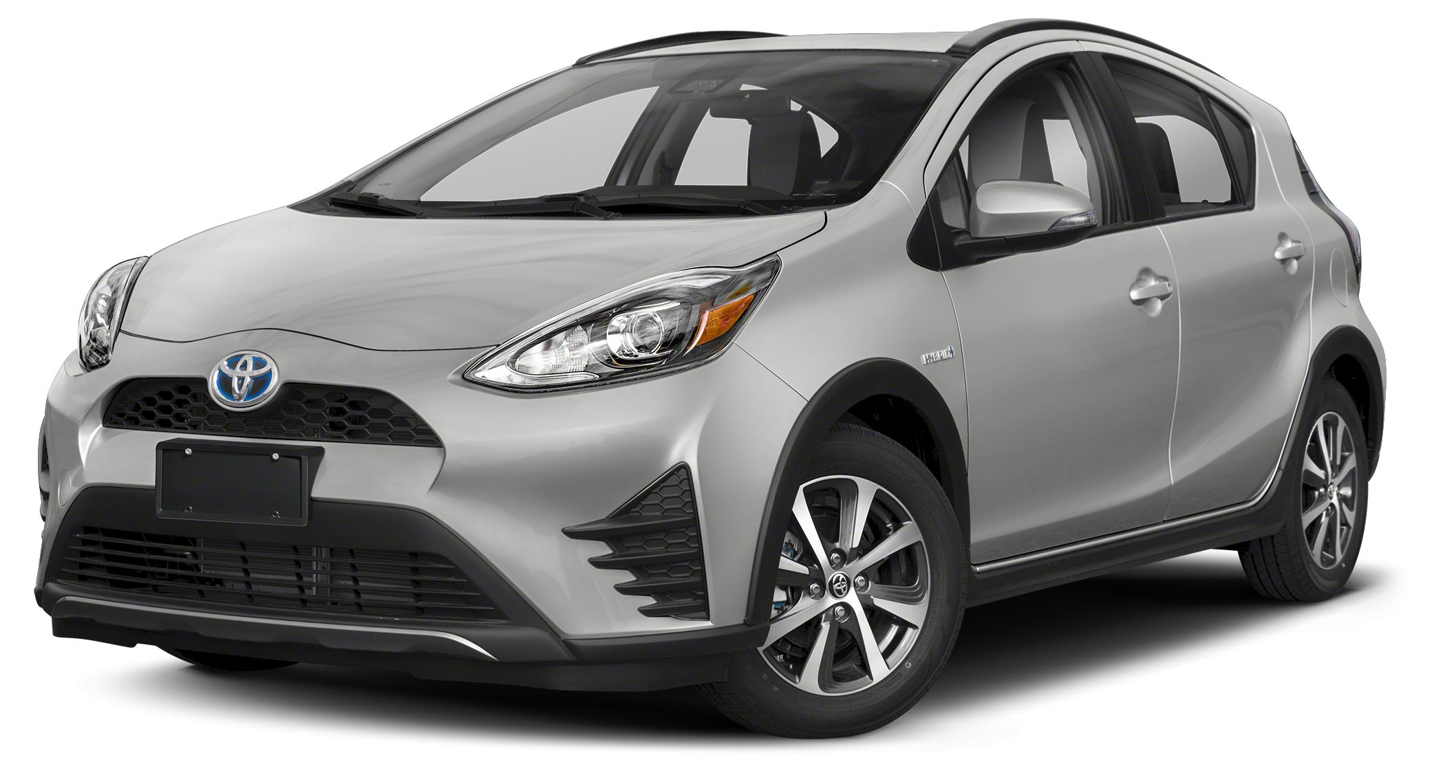 2018 Toyota Prius c Two Classic Silver Metallic Two Preferred Owners Portfolio 15L 4-Cylinder A