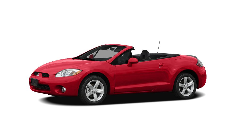 2008 Mitsubishi Eclipse Spyder GT Miles 53844Color Red Stock P6883A VIN 4A3AL35T98E001529