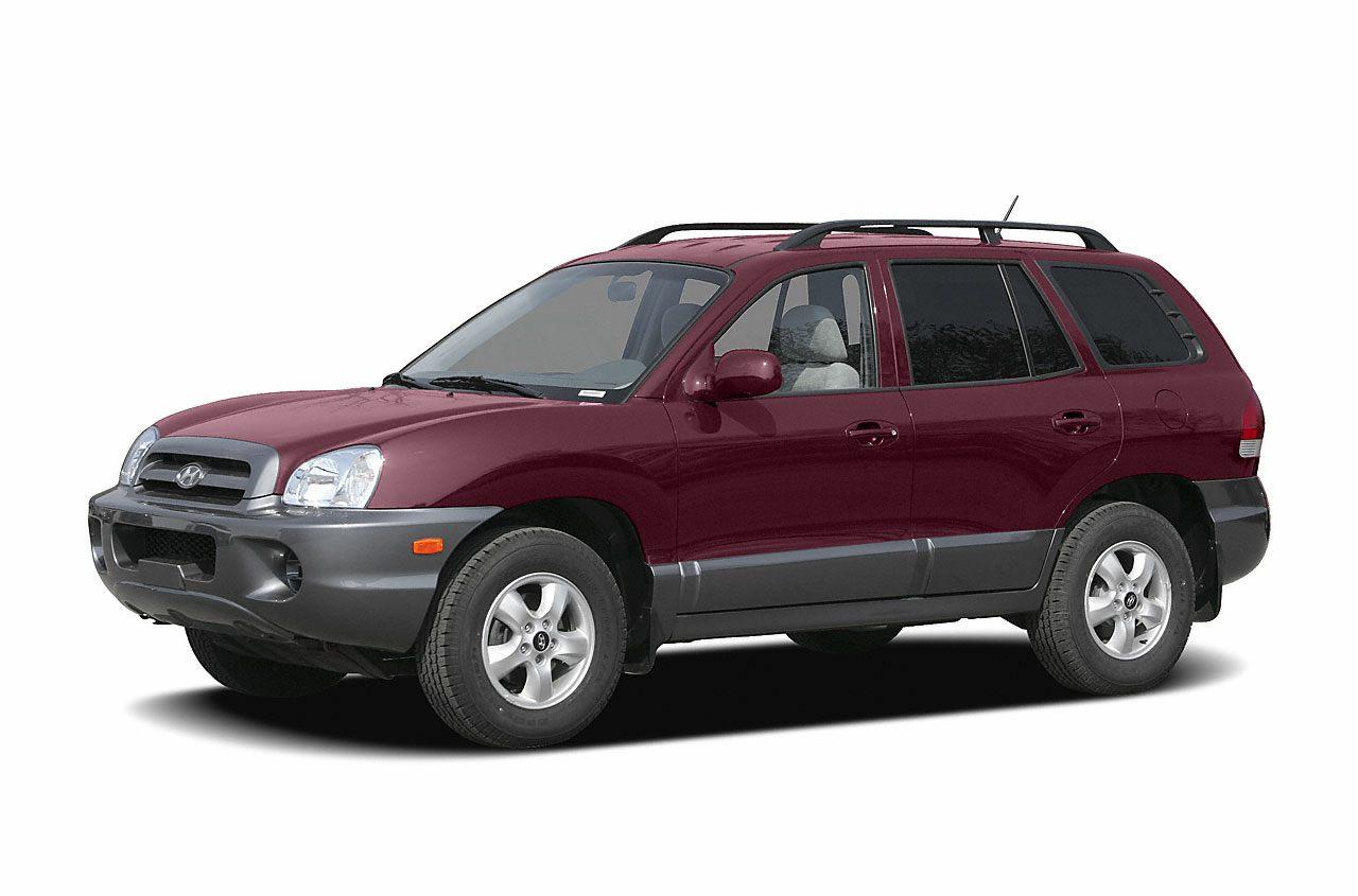 2005 Hyundai Santa Fe GLS Gets Great Gas Mileage 23 MPG Hwy Your lucky day This tough Santa F