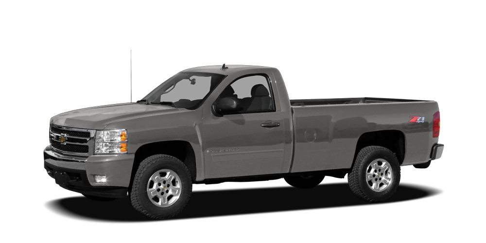 2008 Chevrolet Silverado 1500 WT 4-Speed Automatic with Overdrive and Vinyl Gasoline Dont let t
