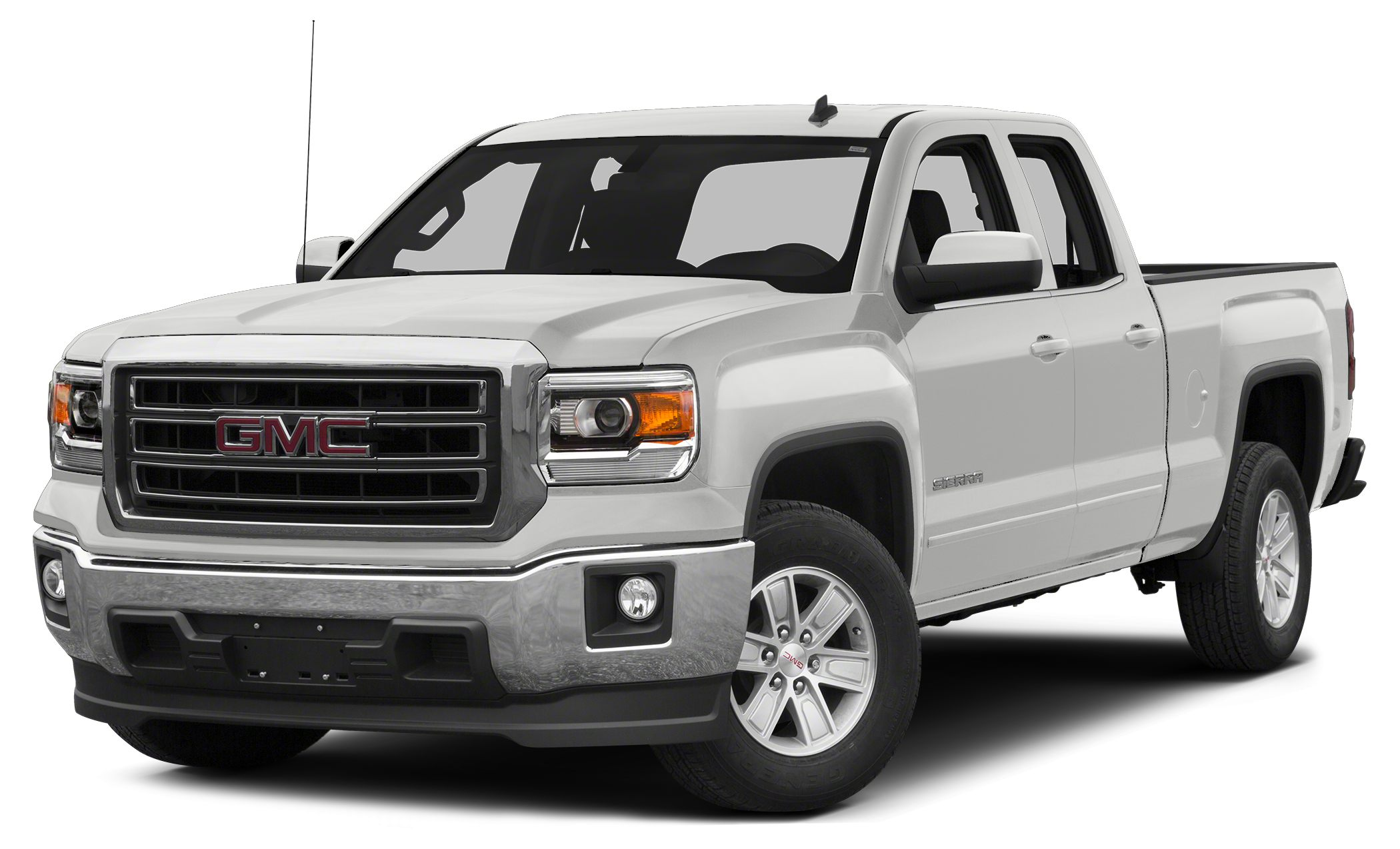 2015 GMC Sierra 1500 SLE Miles 7510Color Summit White Stock 296548A VIN 1GTR1UEH4FZ149574