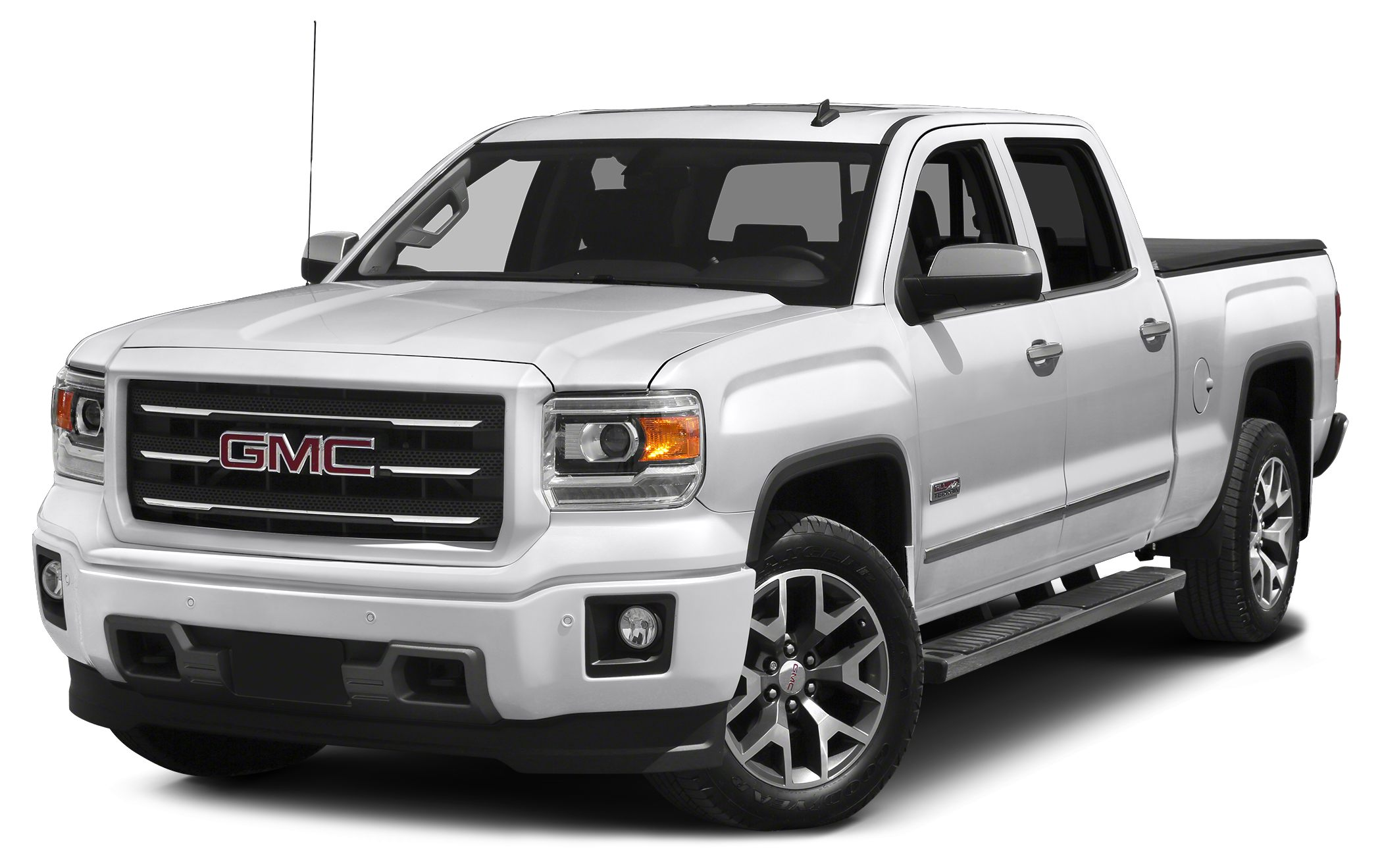 2015 GMC Sierra 1500 SLE 6-Speed Automatic Electronic with Overdrive 4WD and Jet Black Crew Cab