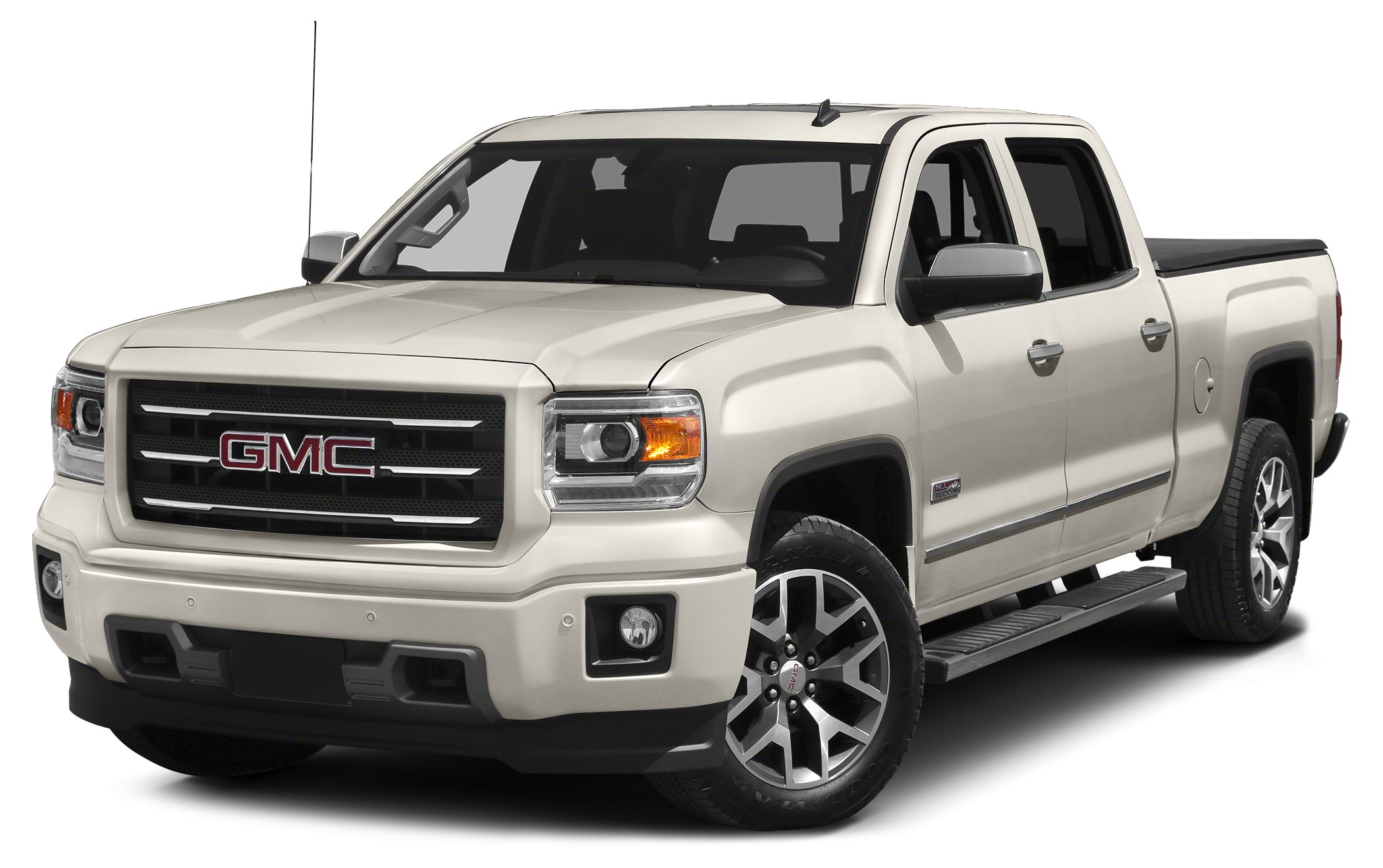 2015 GMC Sierra 1500 SLT 6-Speed Automatic Electronic with Overdrive 4WD and Cocoa  Dune Short