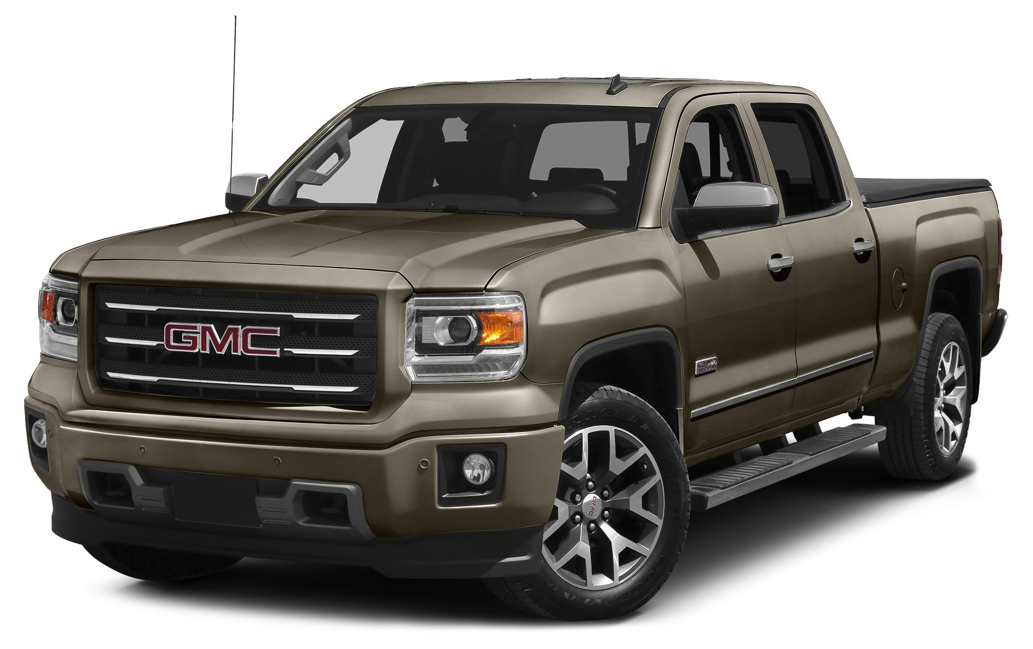 2015 GMC Sierra 1500 SLE 6-Speed Automatic Electronic with Overdrive 4WD and Cocoa  Dune Dont