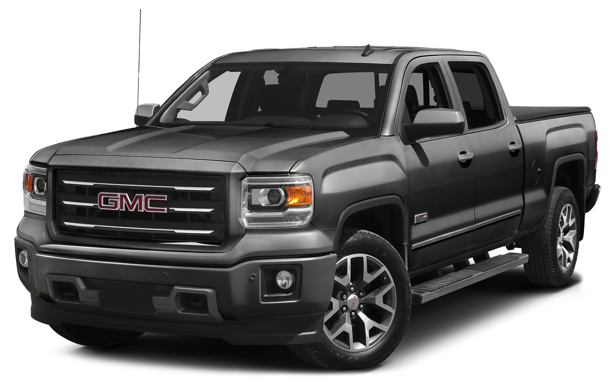 2015 GMC Sierra 1500 SLT 6-Speed Automatic Electronic with Overdrive 4WD and Jet Black Your luc