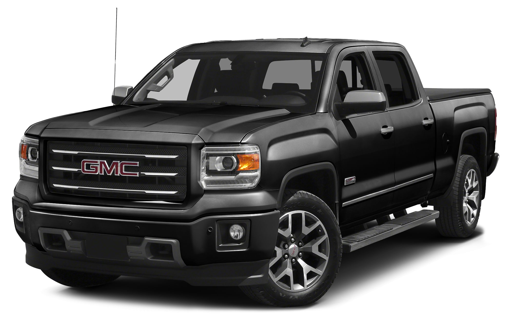 2015 GMC Sierra 1500 SLE 6-Speed Automatic Electronic with Overdrive 4WD and Jet Black Leather