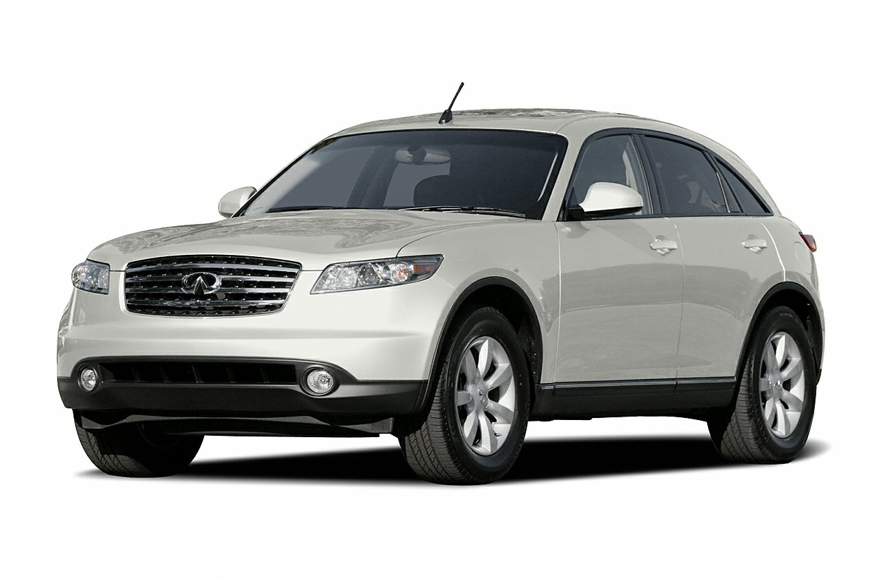 2004 INFINITI FX35 Base WE OFFER FREE LIFETIME INSPECTION Miles 114321Color Gray Stock P1484T