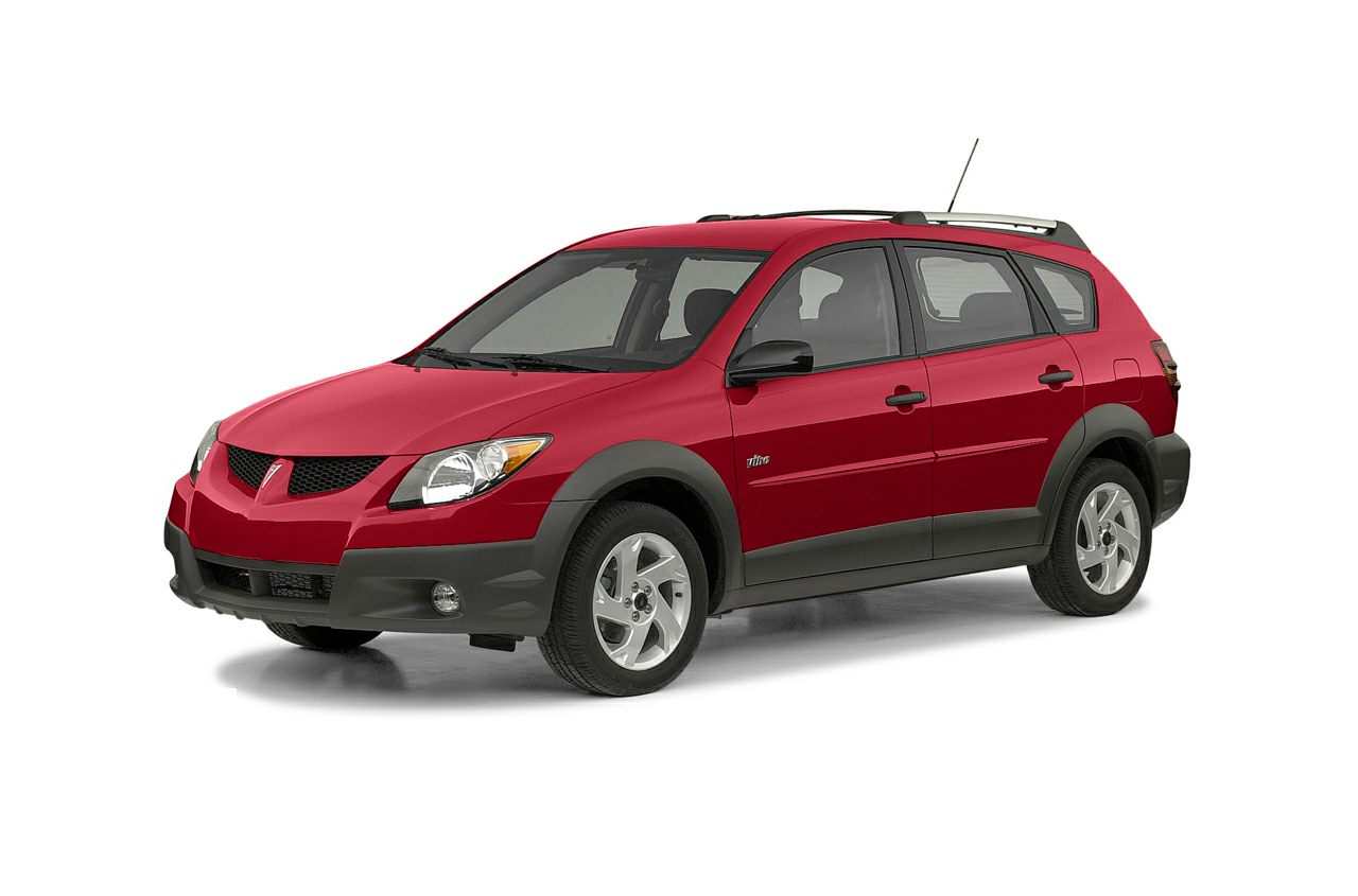 2003 Pontiac Vibe Base Prices are PLUS tax tag title fee 799 Pre-Delivery Service Fee and 1
