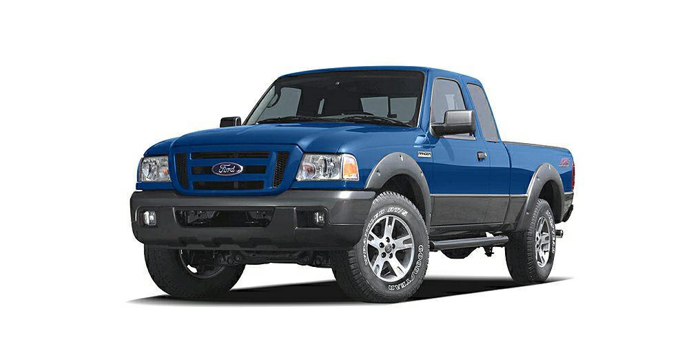 2006 Ford Ranger Sport Sonic Blue Metallic exterior and Medium Dk Flint interior Sport trim Extr