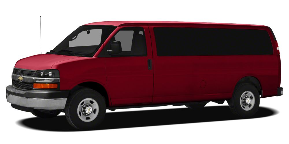 2012 Chevrolet Express 3500 LT Miles 42389Color Victory Red Stock 165139A VIN 1GAZG1FA6C1140
