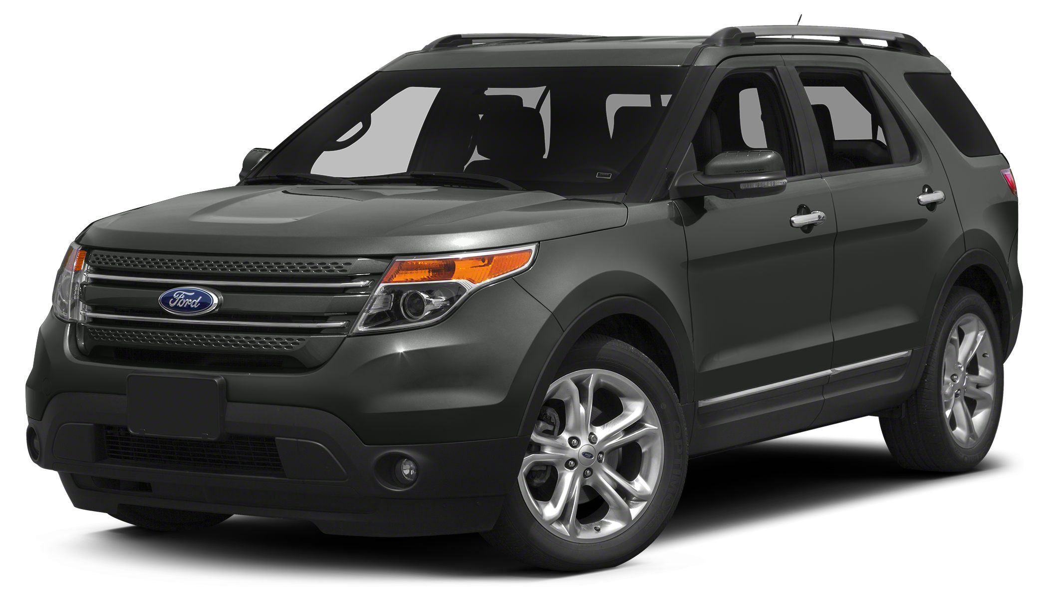 2015 Ford Explorer Limited 2015 Ford Explorer Limited in Dark Side Metallic Bluetooth for Phone a