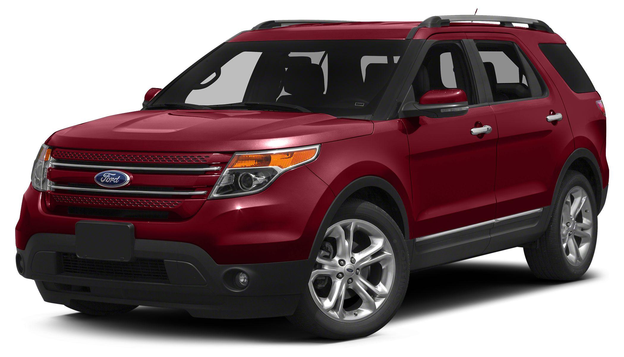 2015 Ford Explorer Limited Color Red Stock 69014 VIN 1FM5K8F86FGC69014