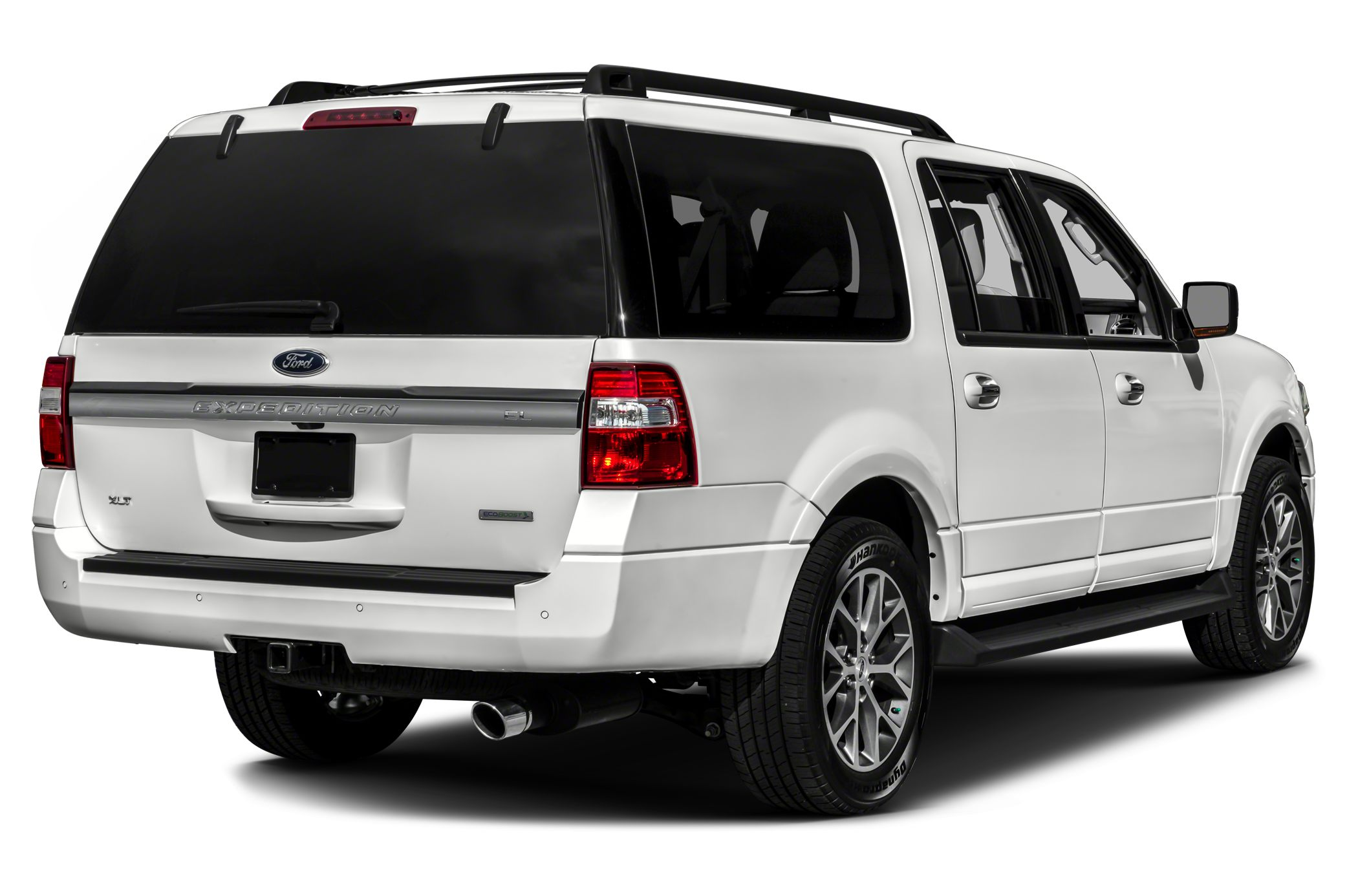 2016 Ford Expedition EL XLT 4WD CARFAX One-Owner White 2016 Ford Expedition EL 4WD EcoBoost 35L