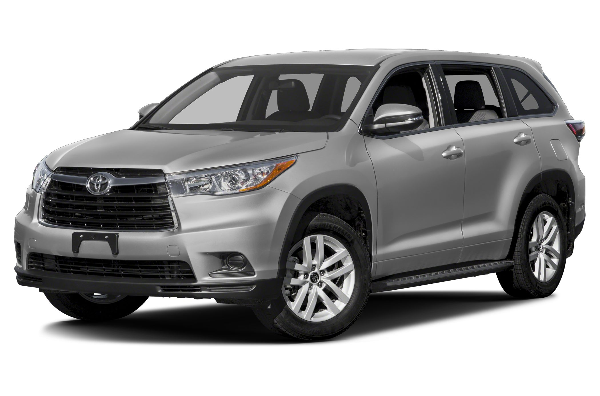 2016 Toyota Highlander LE Bluetooth 3rd Row Seating Rear Spoiler Stability Control ABS Brakes