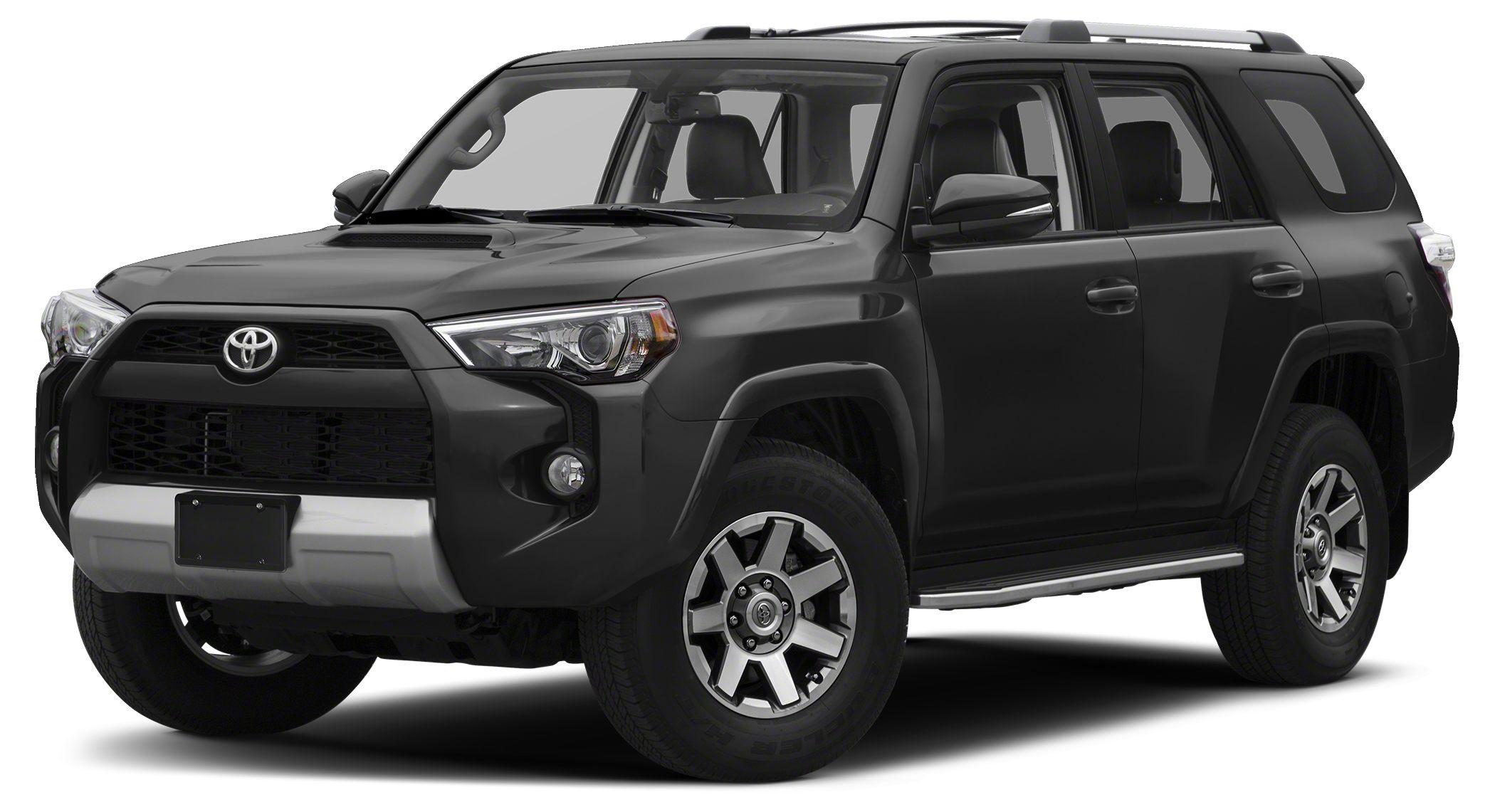 2018 Toyota 4Runner TRD Off Road Magnetic Gray Metallic TRD Off-Road Keep It Wild Savings 4WD Al