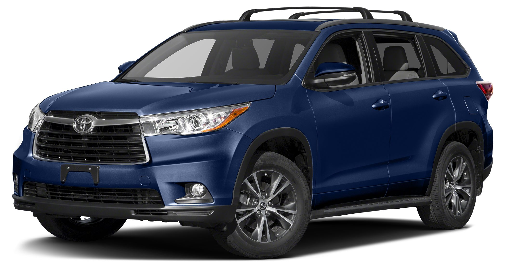 2016 Toyota Highlander XLE Miles 0Color Nautical Blue Metallic Stock 56024 VIN 5TDKKRFH8GS15