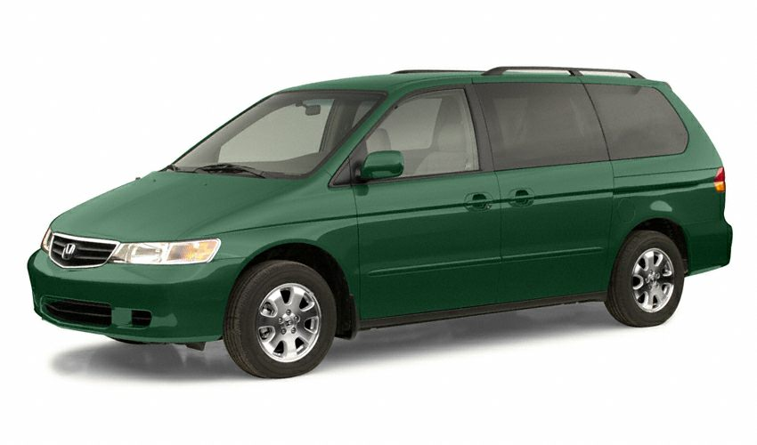 2002 Honda Odyssey EX-L w RES Heated Seats Automatic Leather Seats New Arrival Price does not