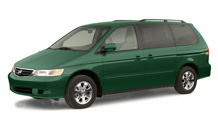 2002 Honda Odyssey EX-L w RES Miles 221091Color Silver Stock U2409A VIN 5FNRL18002B052533