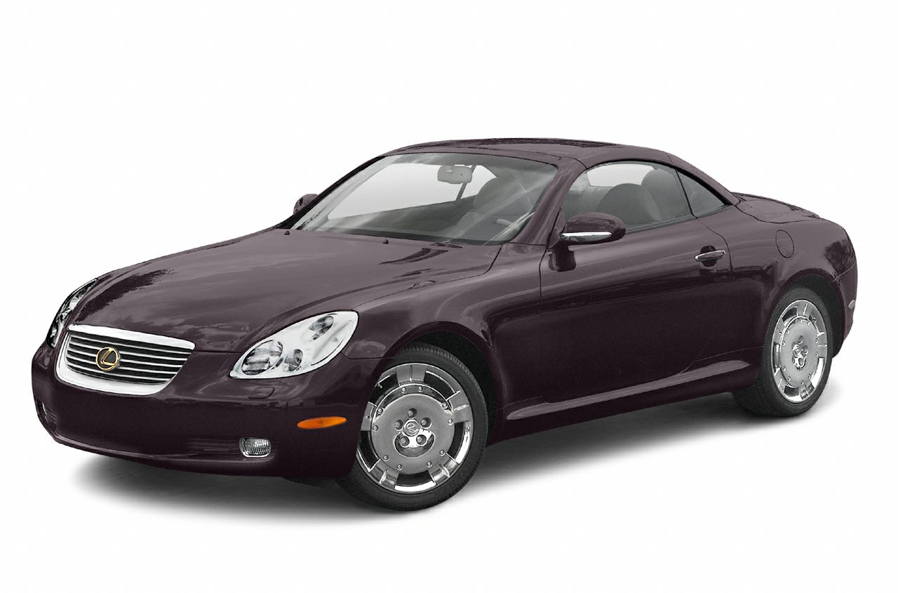 2003 Lexus SC 430 Base This 2003 Lexus SC 430 2dr 2dr Convertible features a 43L 8 CYLINDER 8cyl