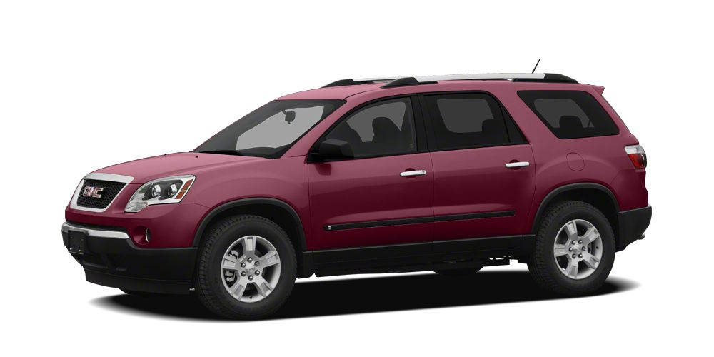 2011 GMC Acadia  FRESH TRADE LEATHER AND LOADED SLT ARCADIAHURRY IN 45 POINT INSPECTION  6