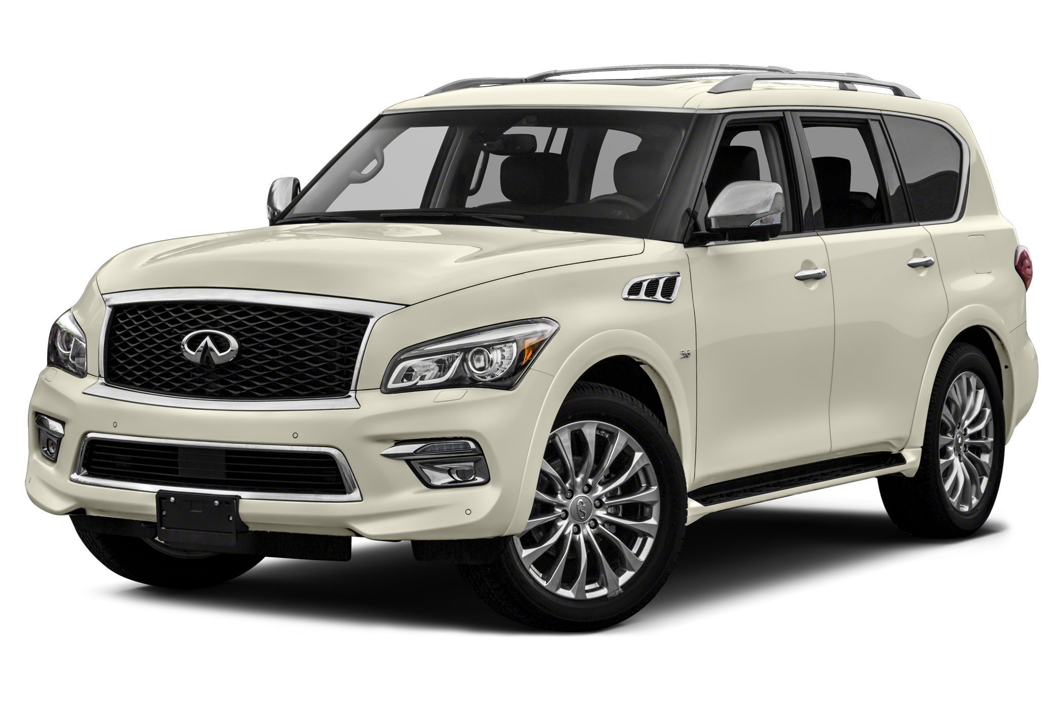 2015 Infiniti QX80 Base Optional equipment includes Carpeted Cargo MatCargo Net  First Aid Kit