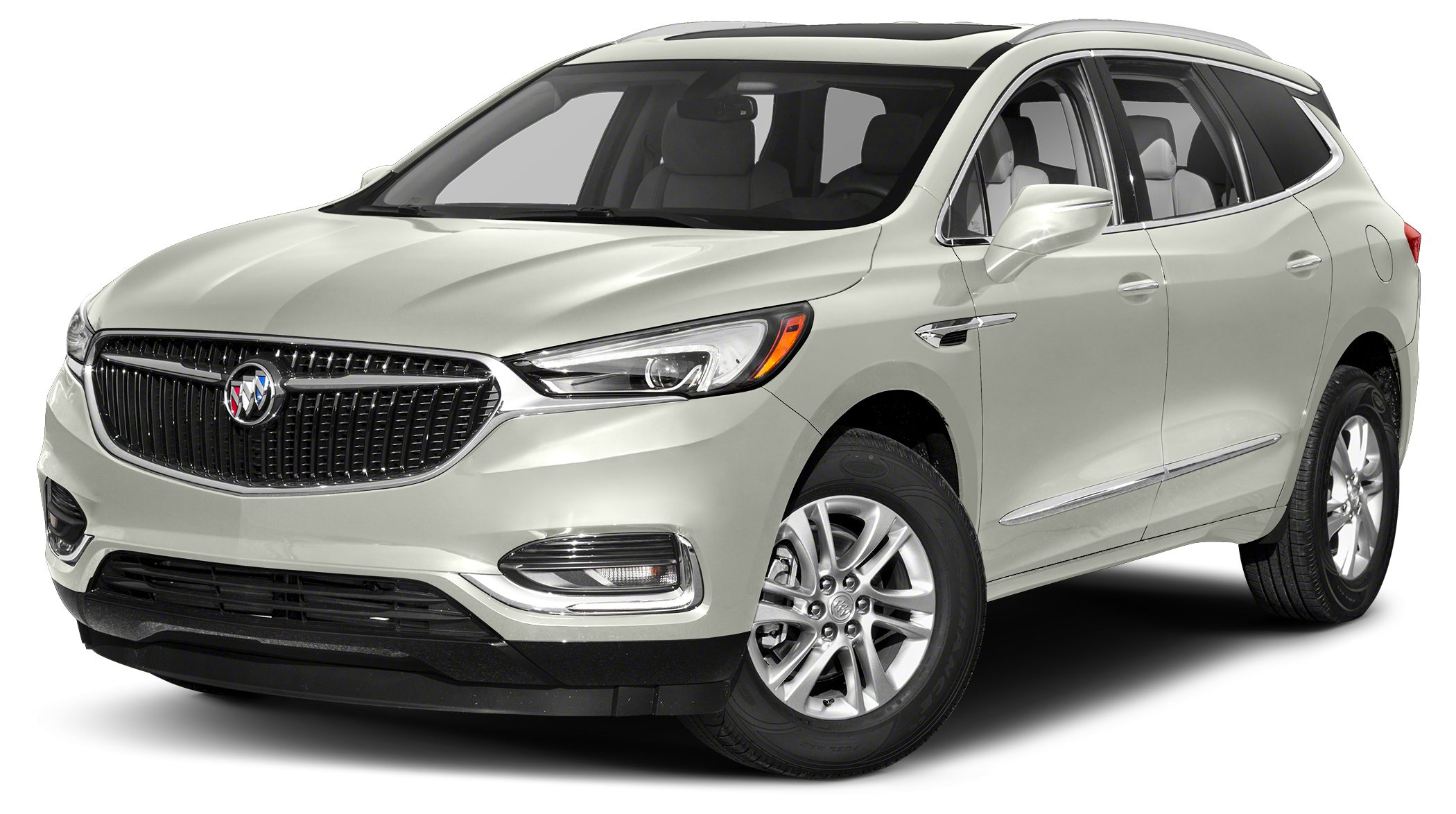 2018 Buick Enclave Essence Delivers 26 Highway MPG and 18 City MPG Miles 5Color White Frost Tr