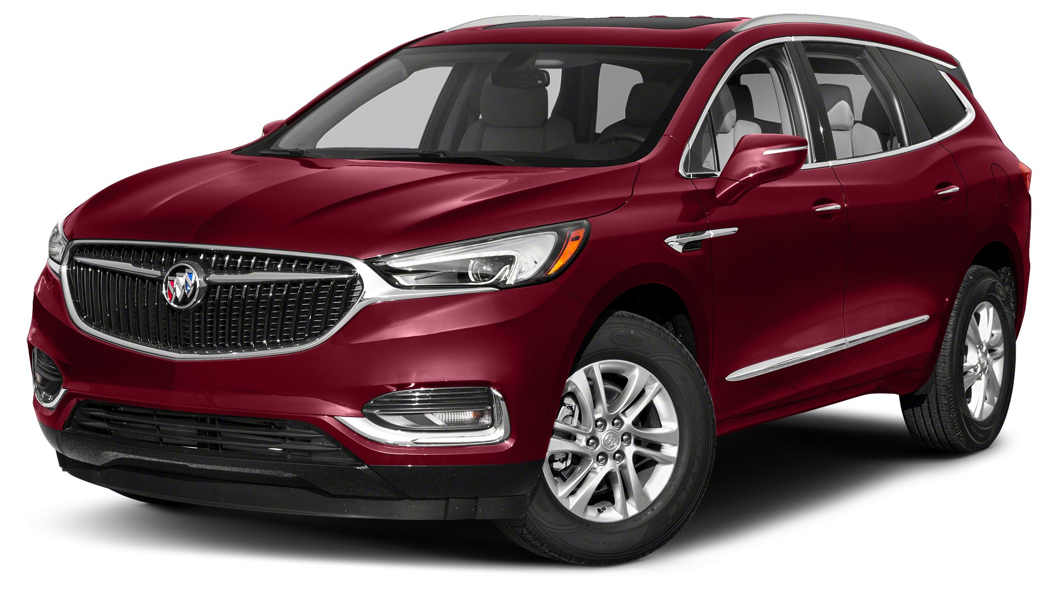 2018 Buick Enclave Essence Boasts 26 Highway MPG and 18 City MPG Miles 5Color Red Quartz Tintc