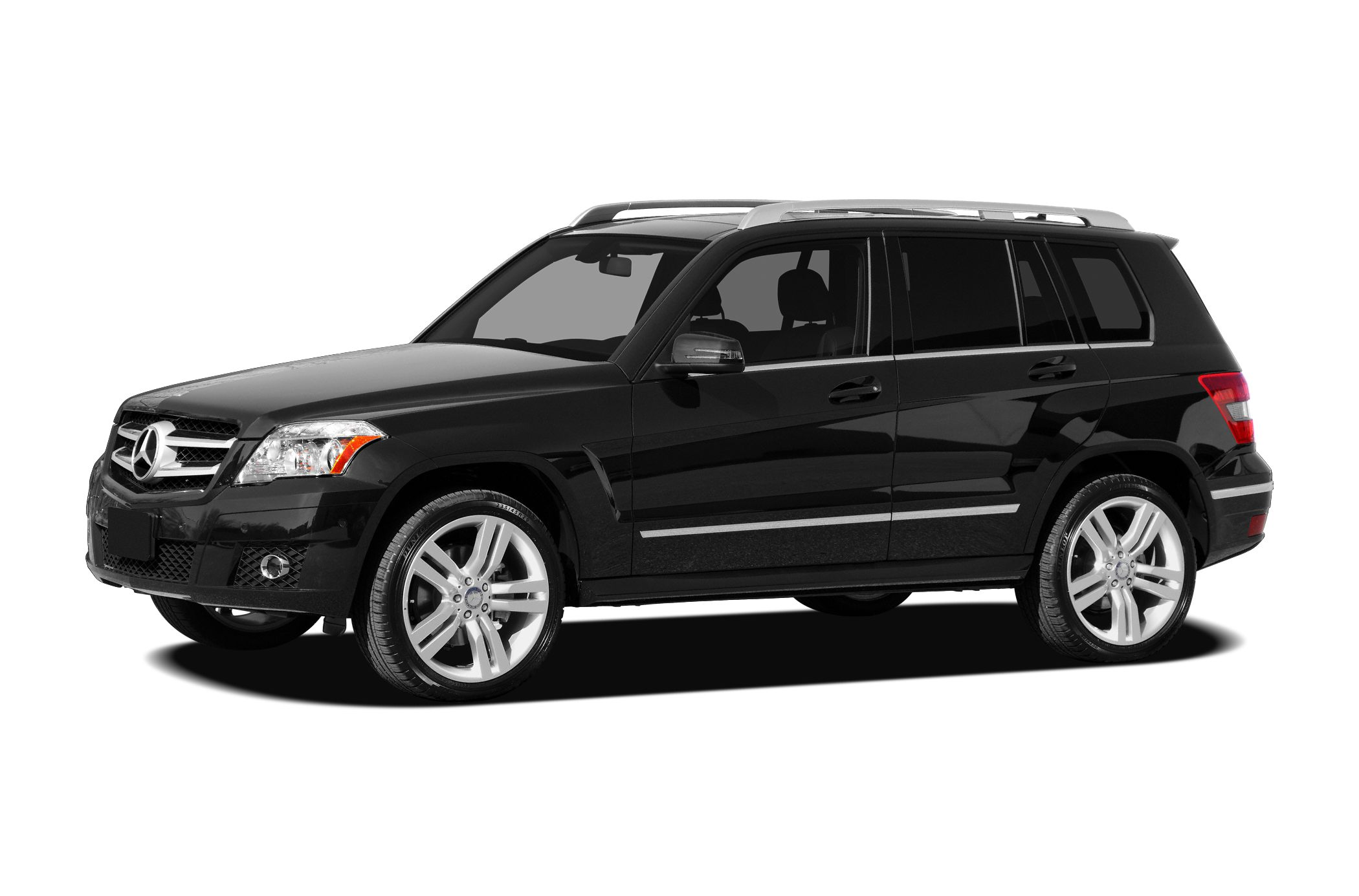 2010 MERCEDES GLK-Class GLK350 4MATIC Navigation and panoramic roof Silver Bullet 4MATIC Miles